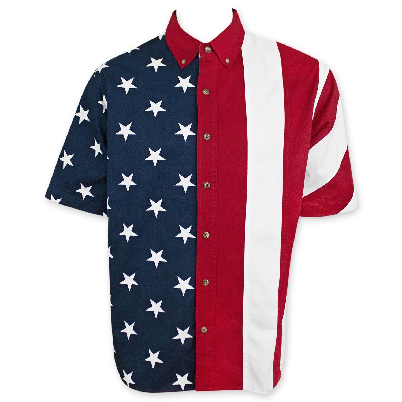 USA Button Up Shirt
