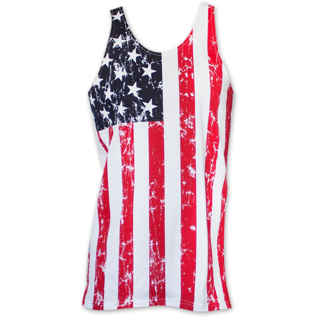 American Flag Men's Stars And Stripes Tank Top