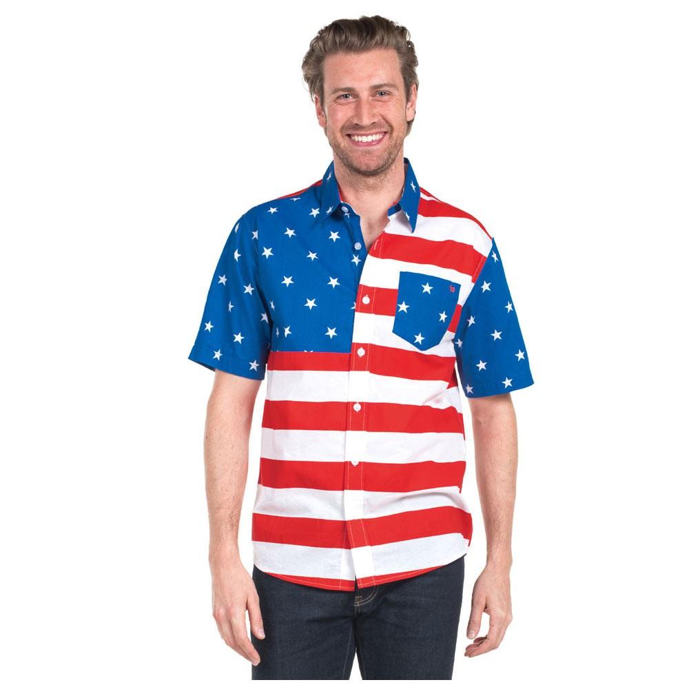 USA Hawaiian Shirt