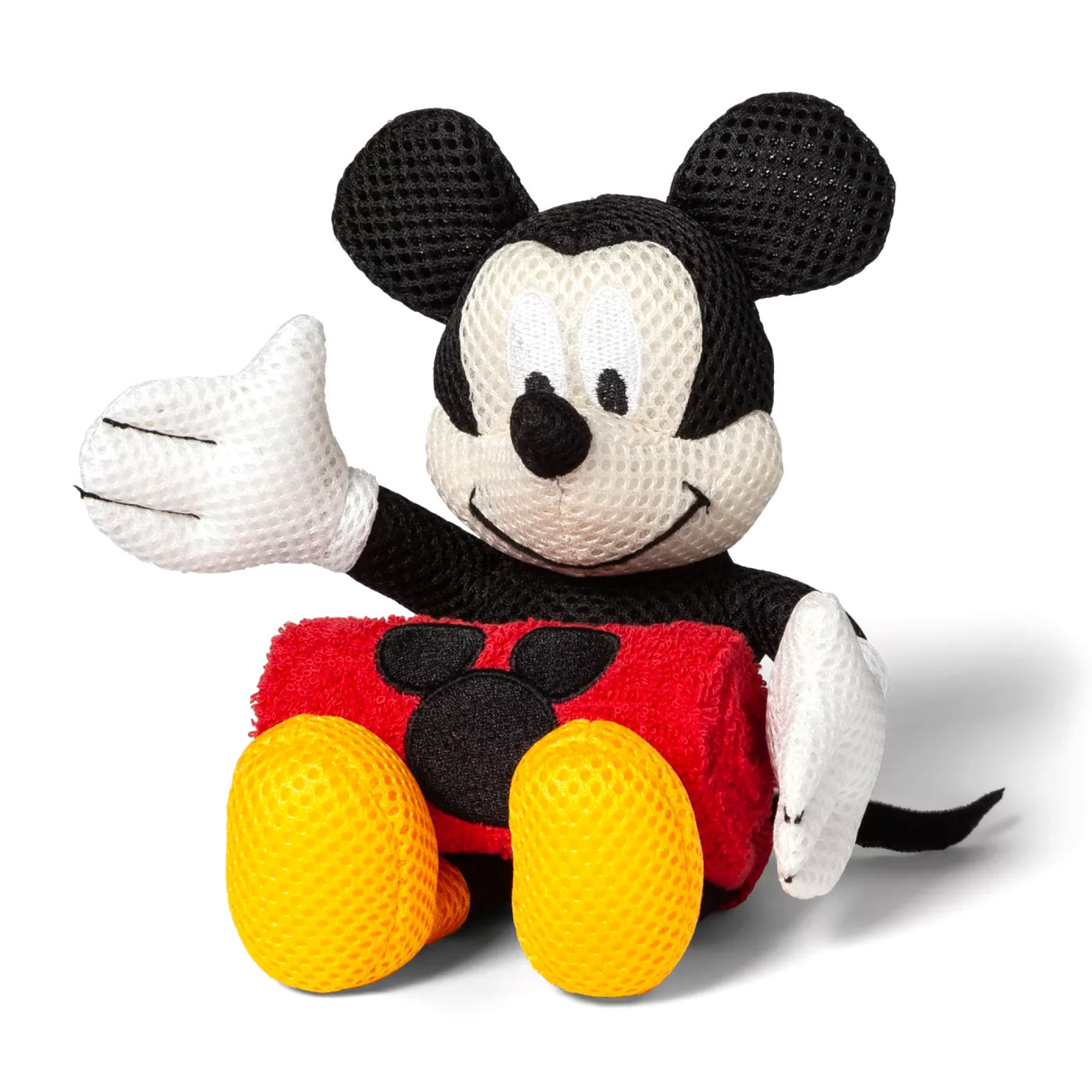Disney Mickey Mouse Wash Cloth and Bath Buddy