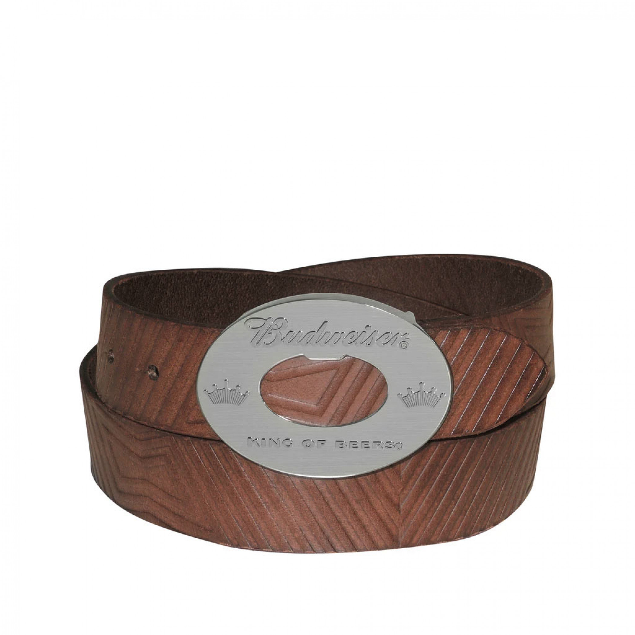 Budweiser Bottle Opener Brown Belt