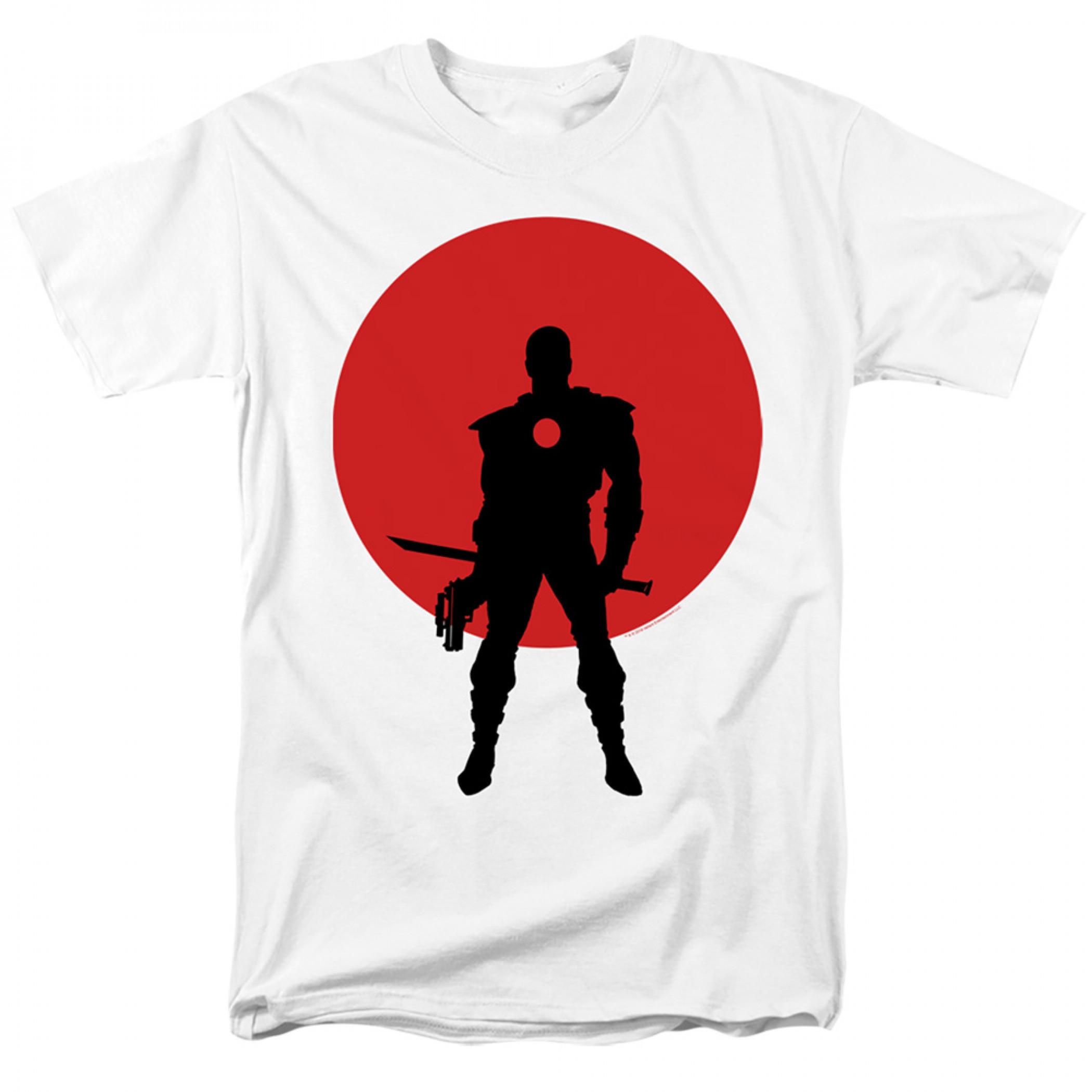 Bloodshot Icon White T-Shirt