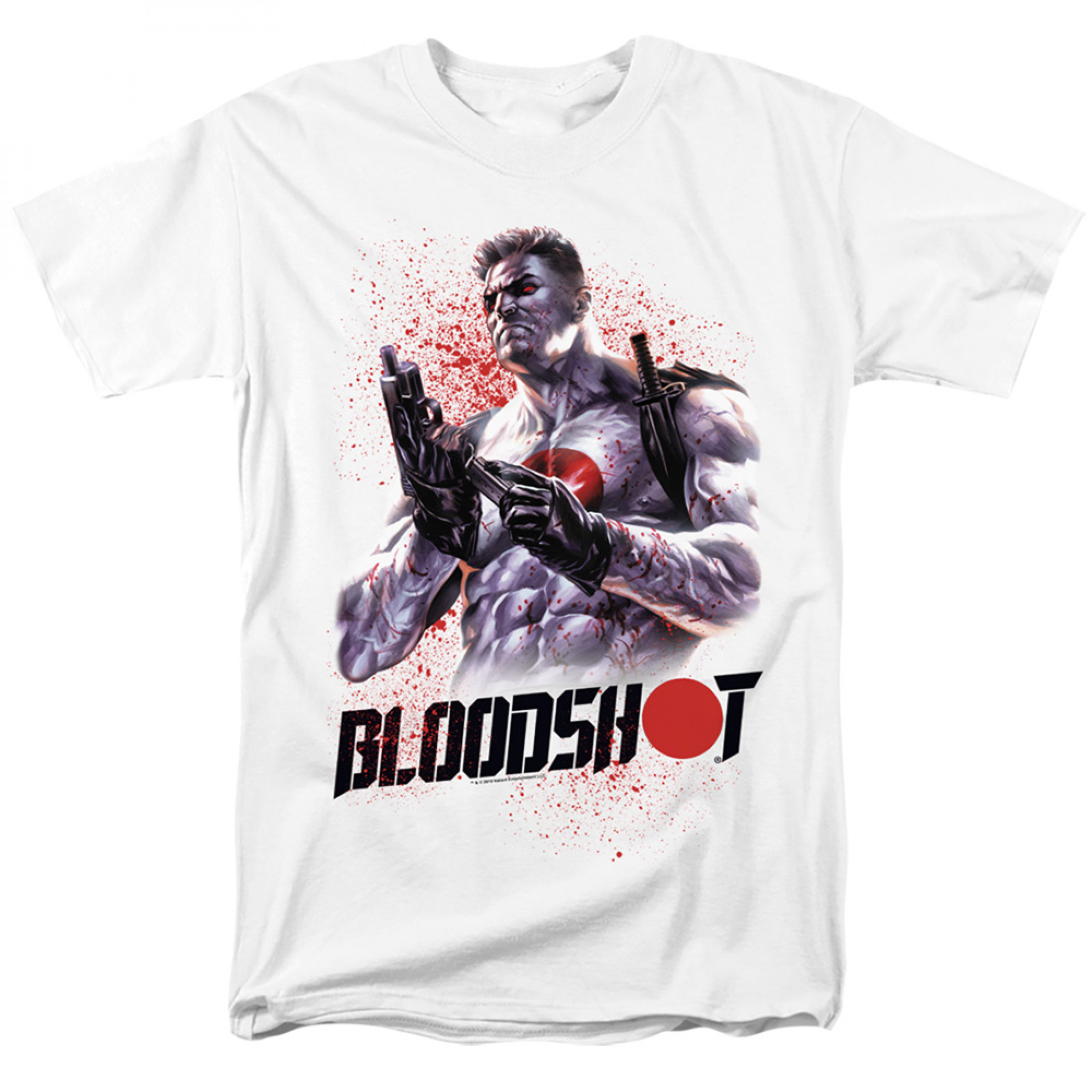 Bloodshot Reload White T-Shirt