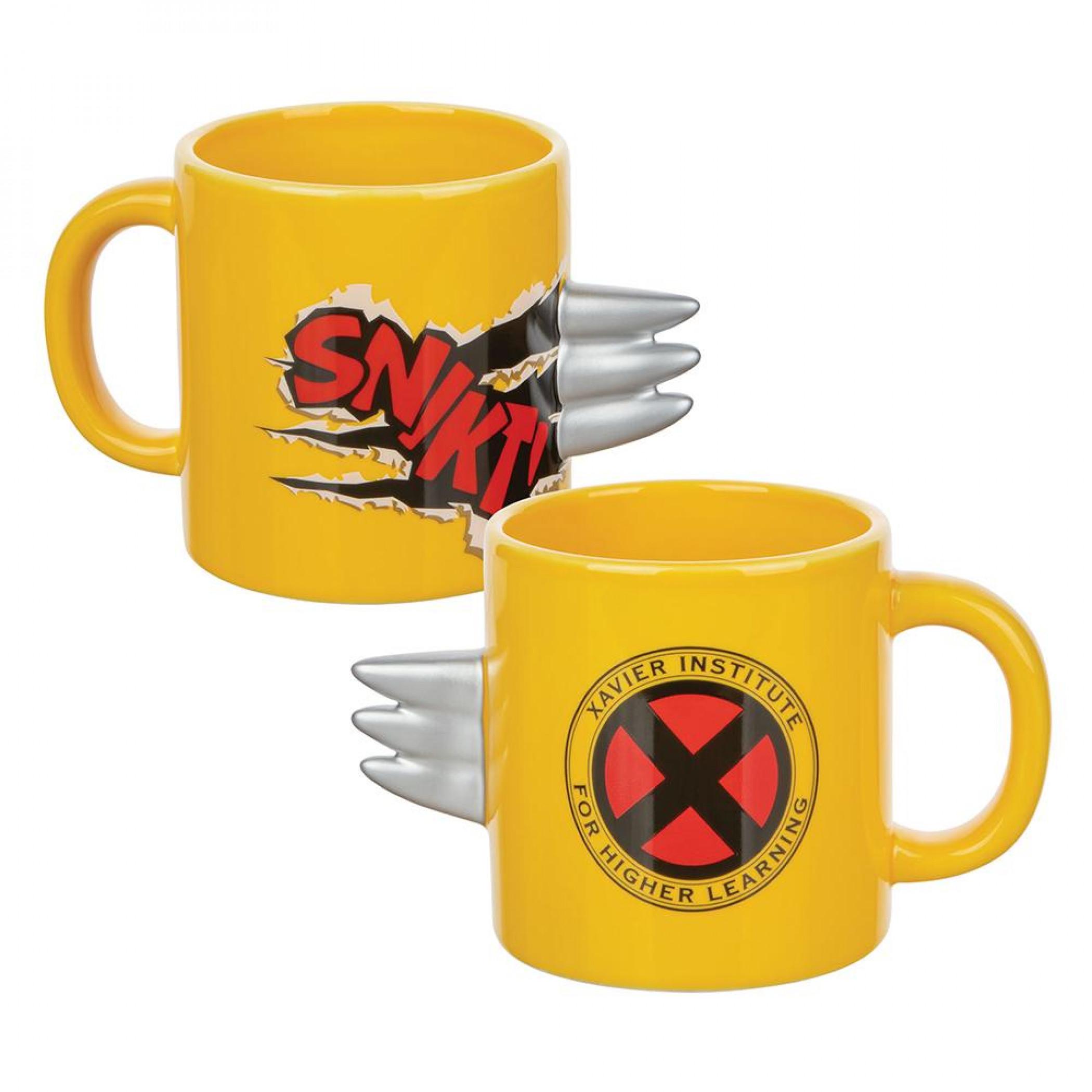 Marvel X-Men 20 oz. Sculpted Ceramic Claw Mug