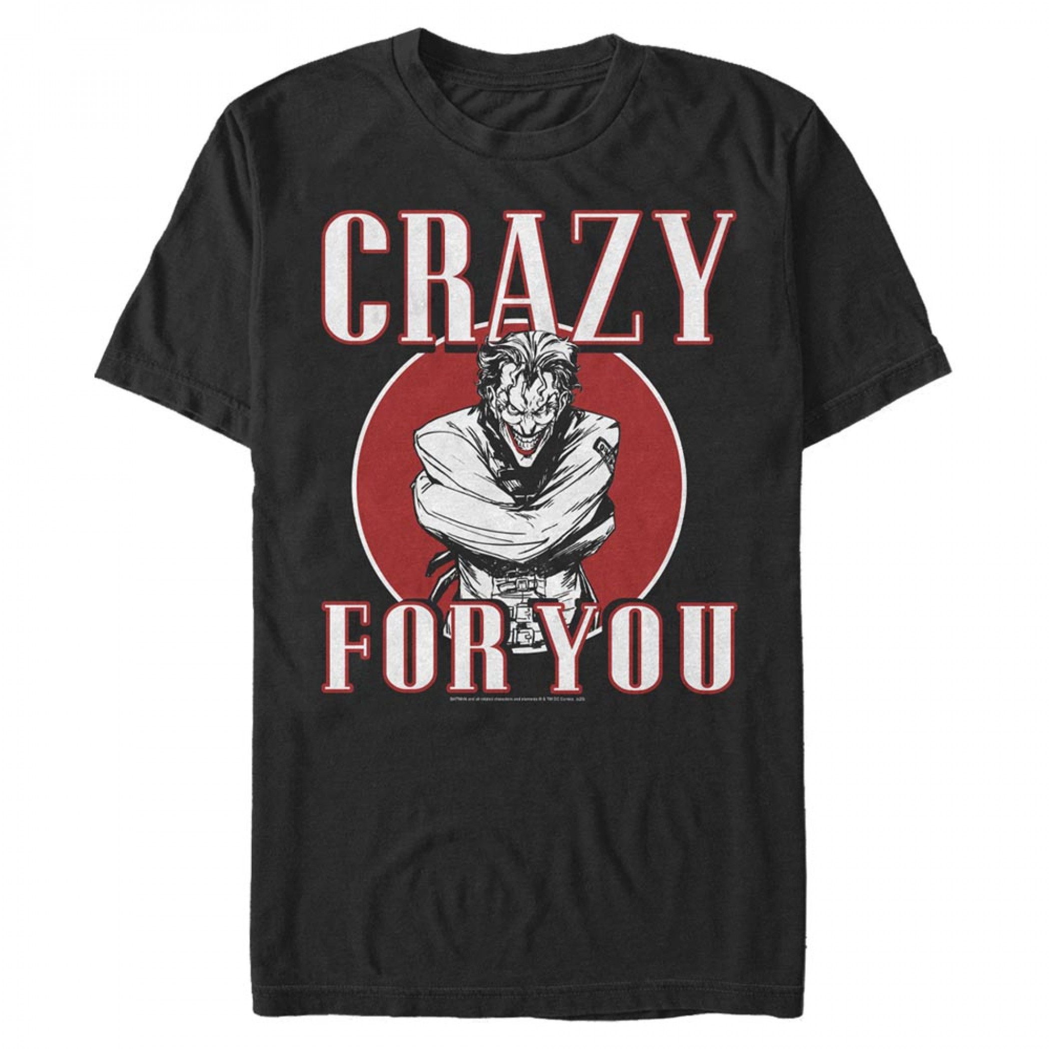The Joker Crazy For You Valentine's Day T-Shirt