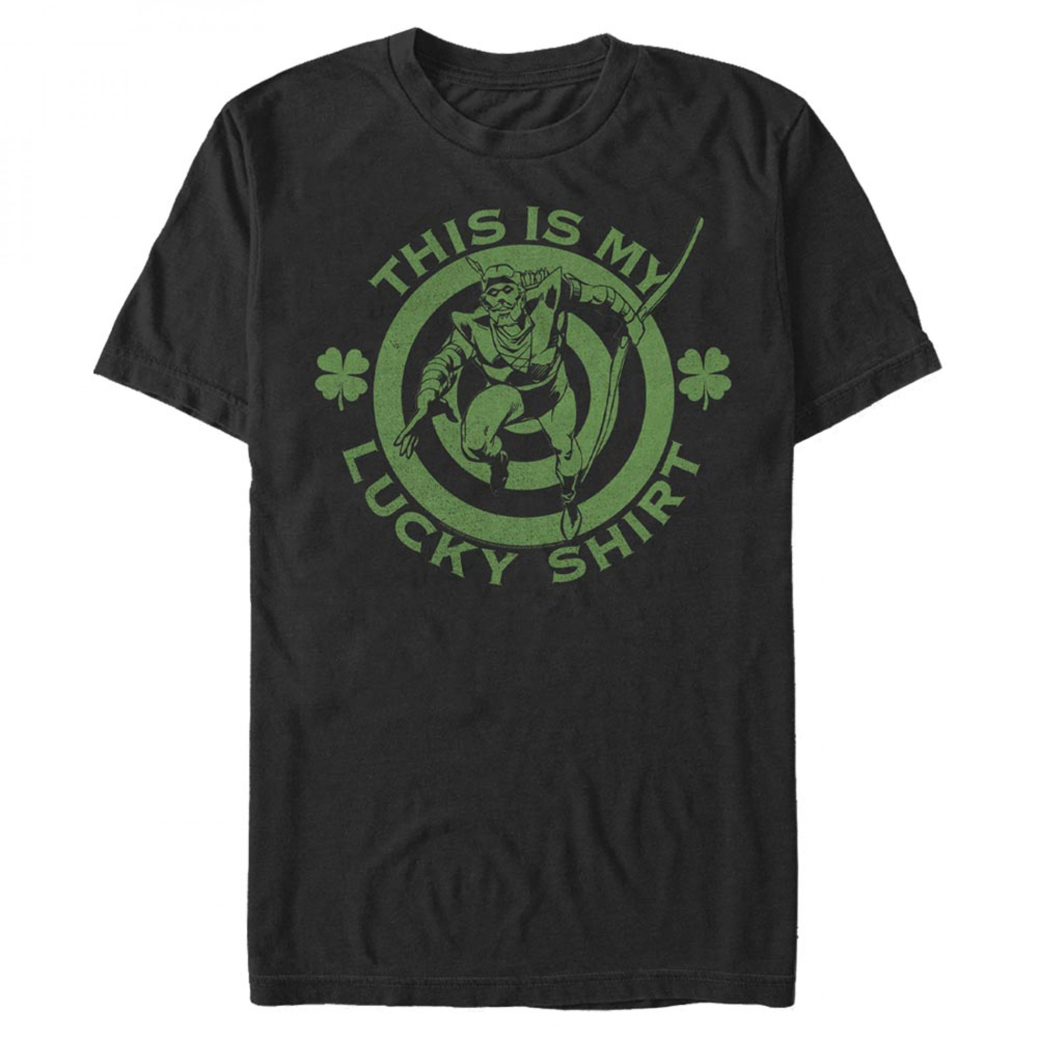 Green Arrow This Is My Lucky Shirt St. Patrick's Day T-Shirt