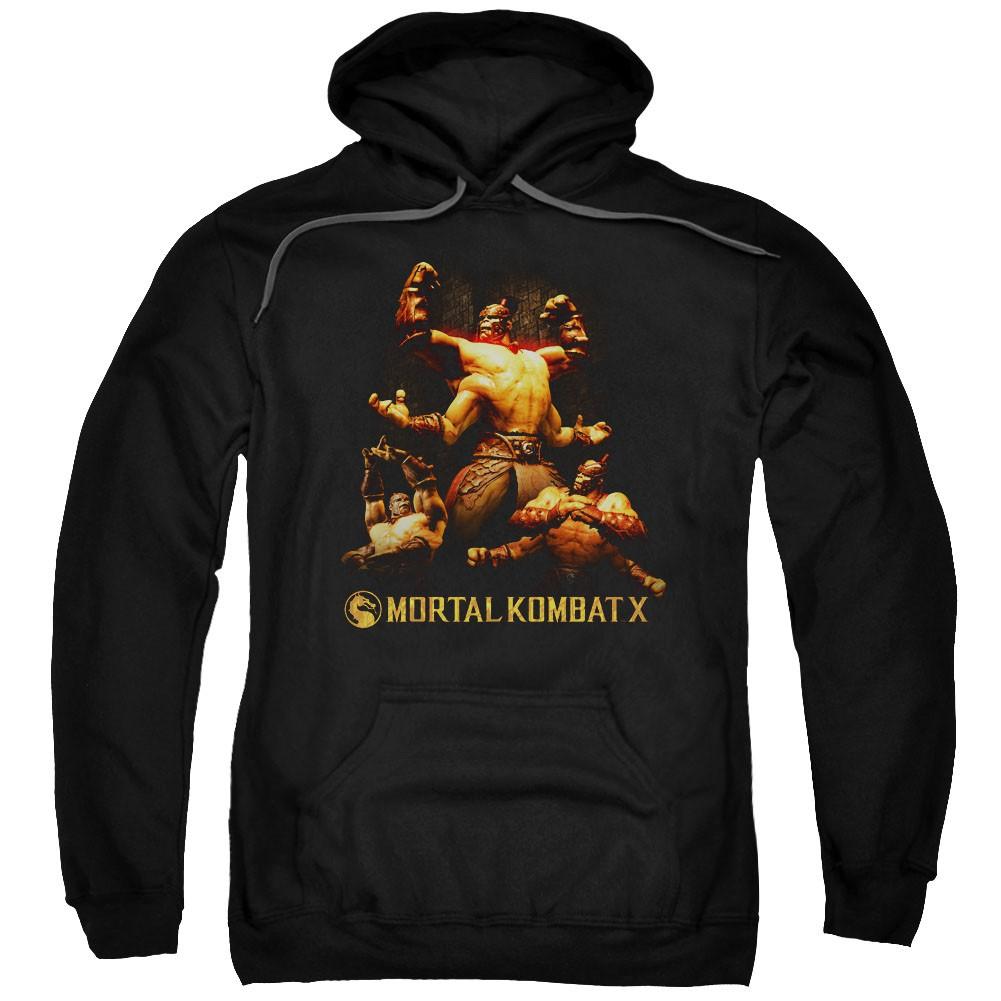 Mortal Kombat X Goro Black Pullover Hoodie