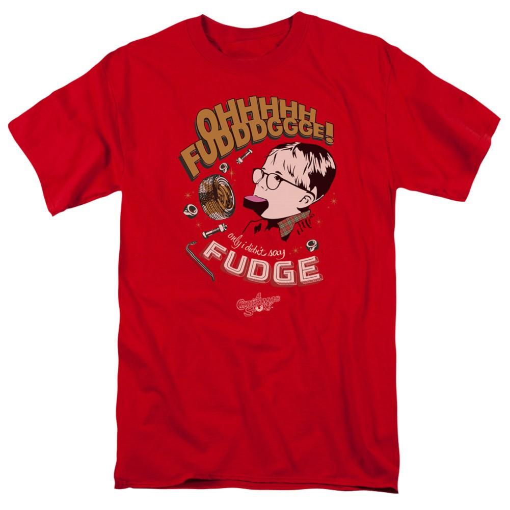 A Christmas Story Oh Fudge Tshirt