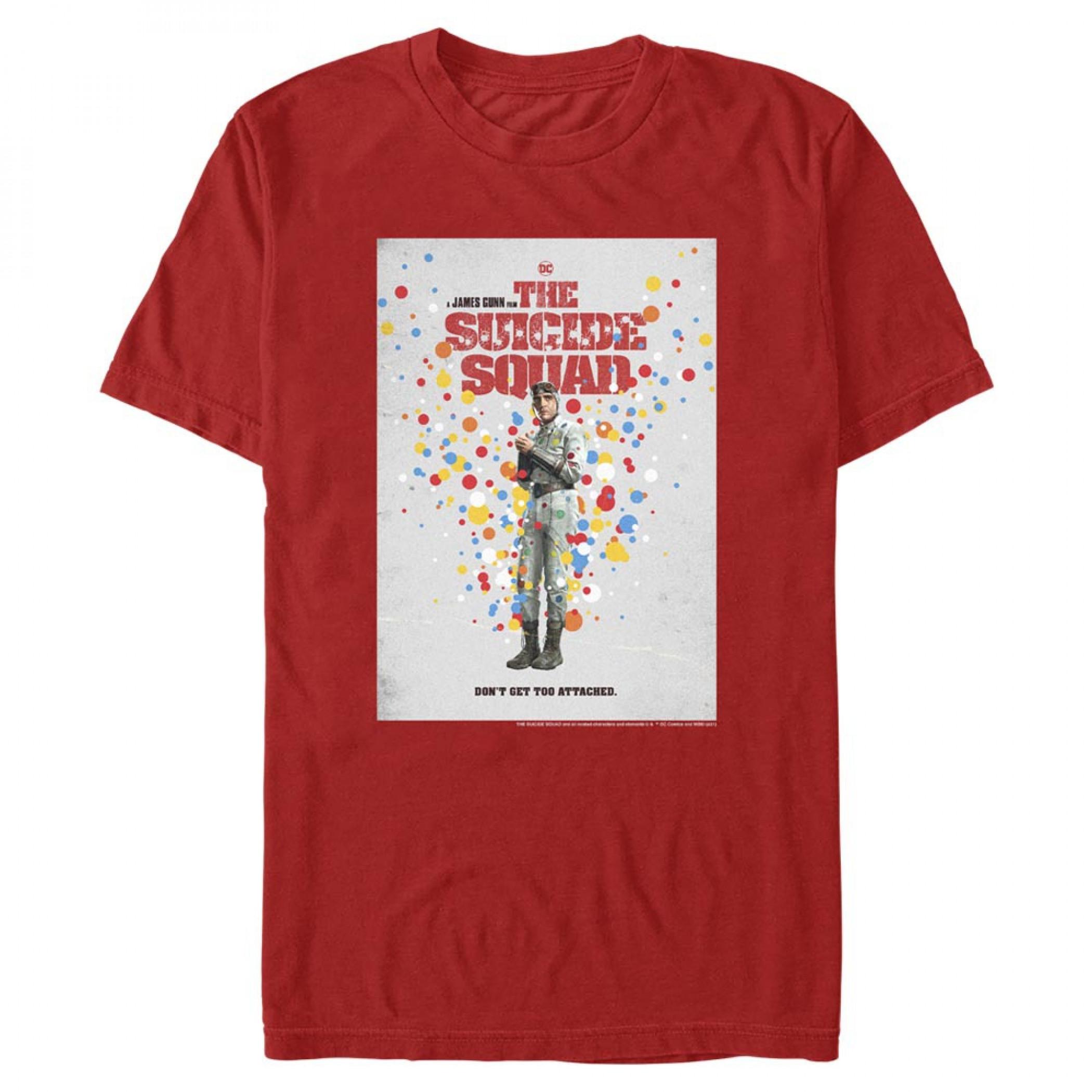 The Suicide Squad Polka-Dot Man Character Portrait Men's T-Shirt