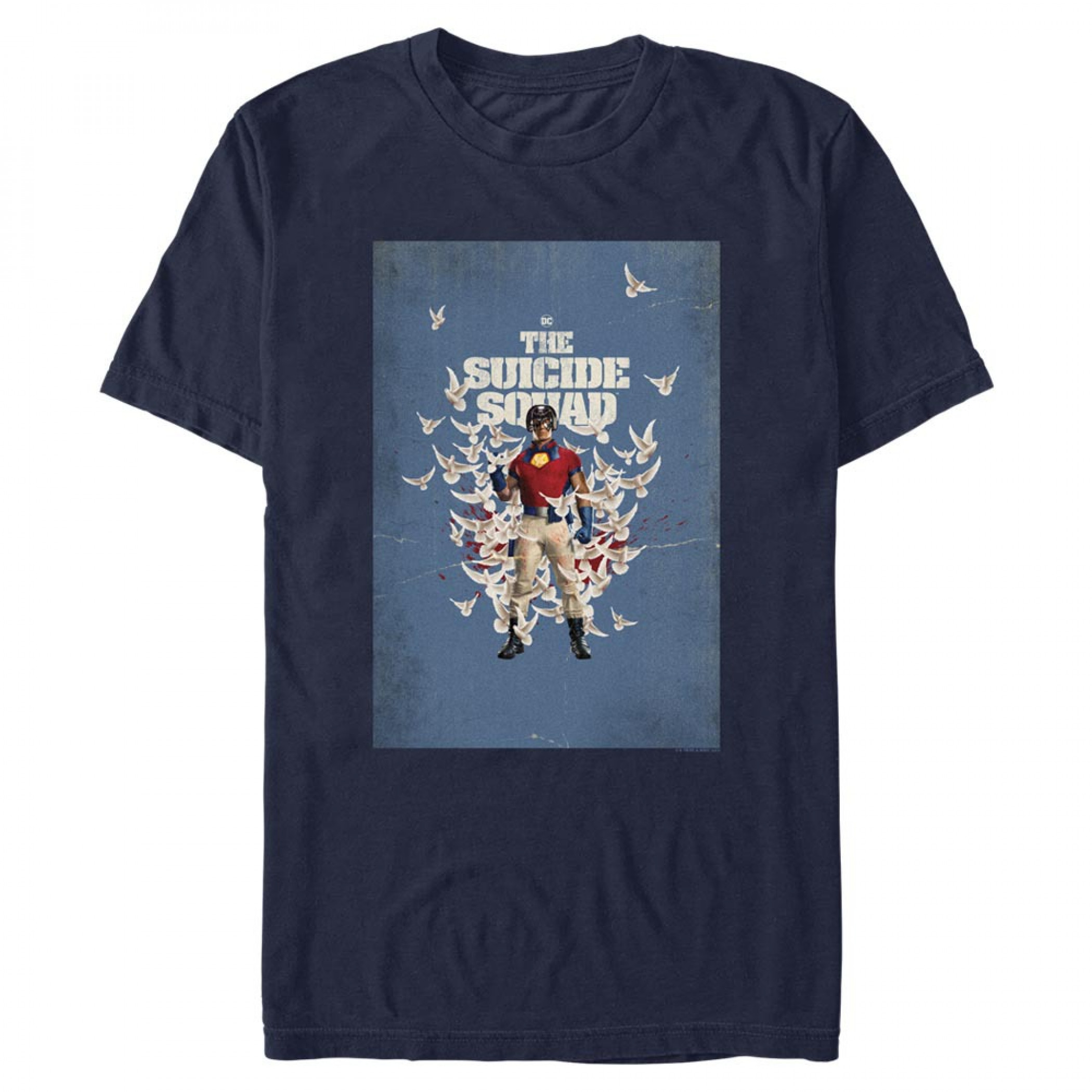 The Suicide Squad Peacemaker Character Doves Poster Men's T-Shirt