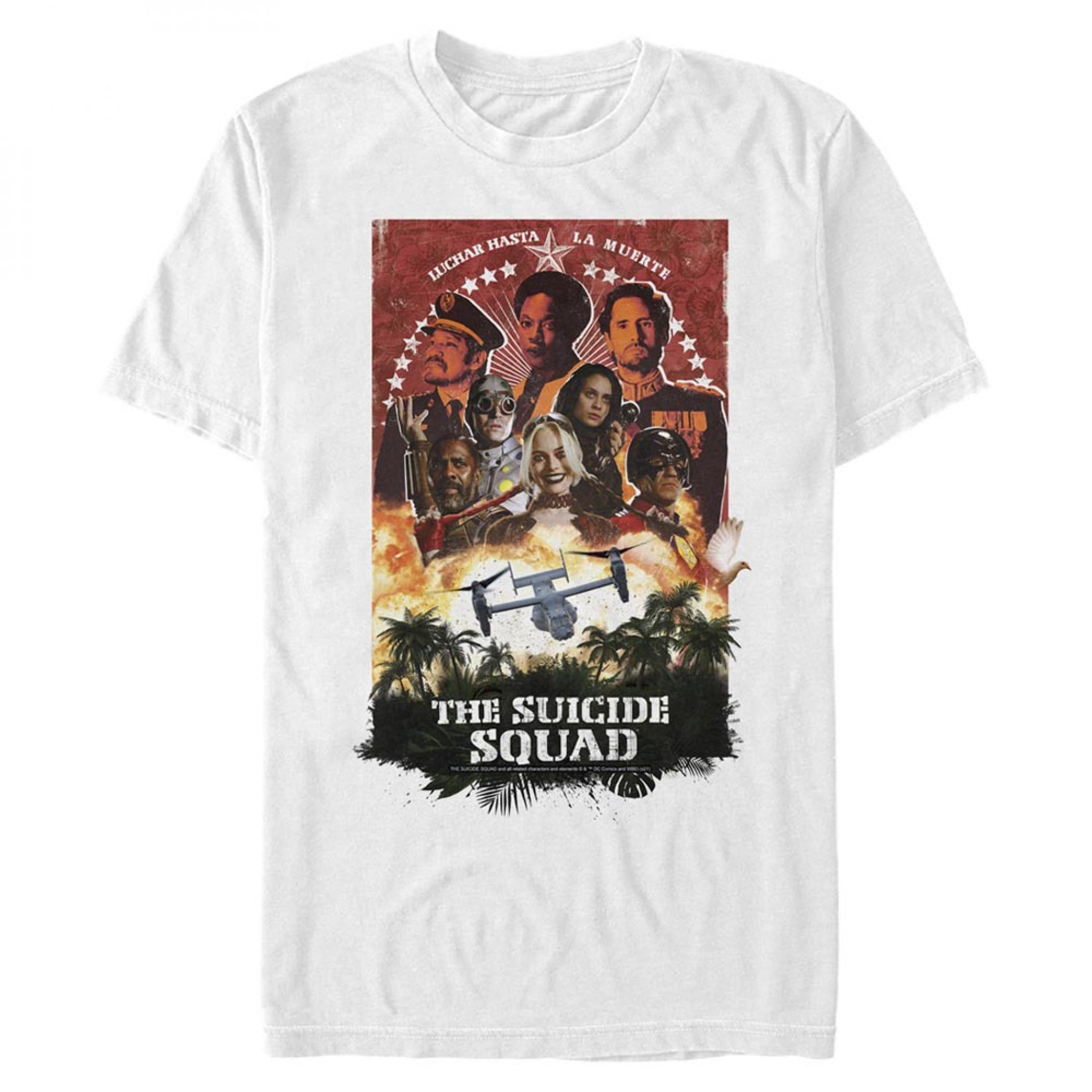 The Suicide Squad Plane Movie Poster Men's T-Shirt