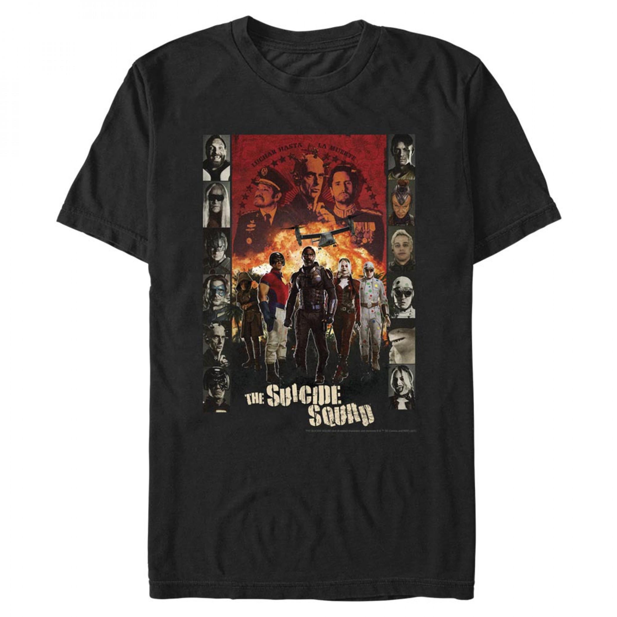 The Suicide Squad Character Cast Men's T-Shirt