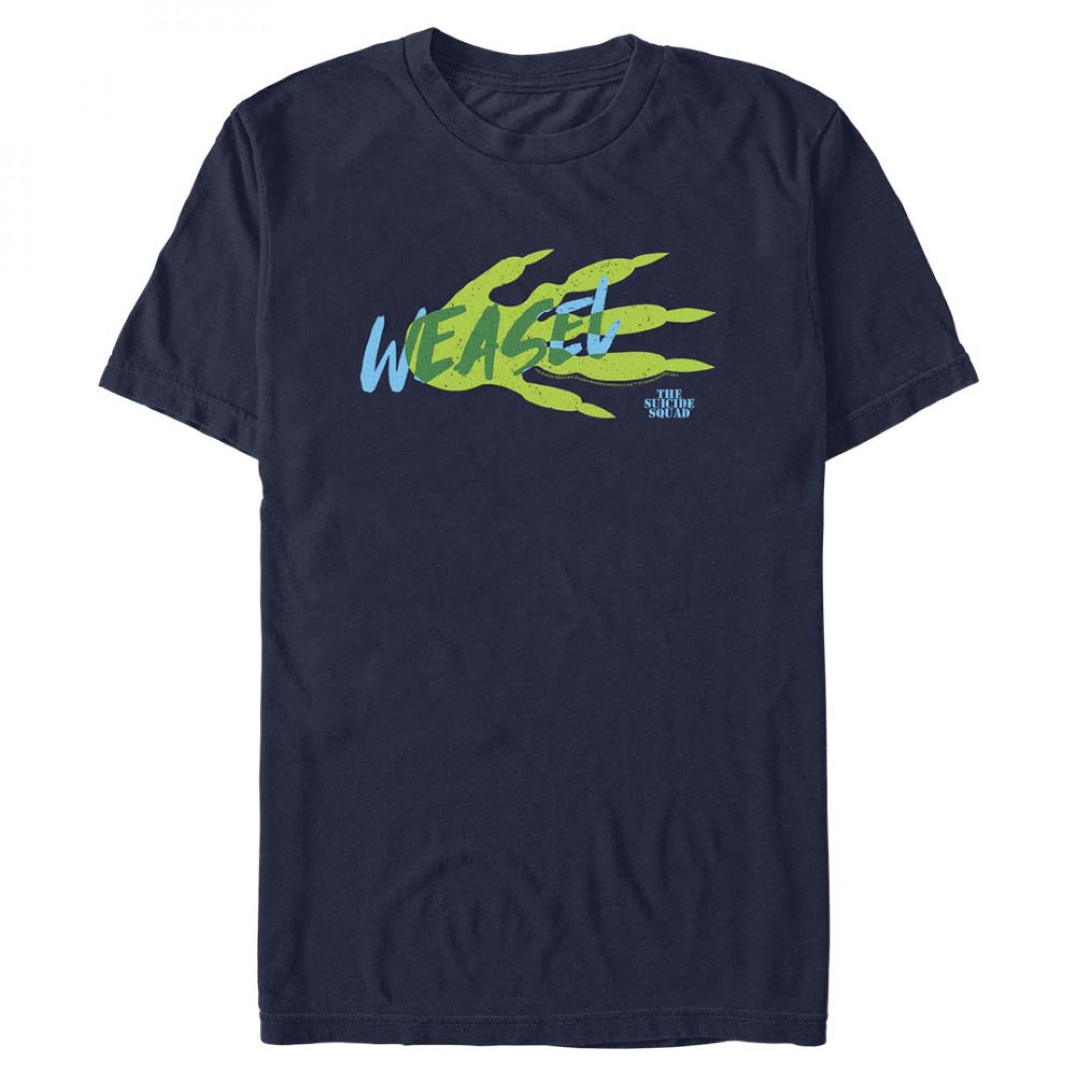 The Suicide Squad Weasel Stylized Logo Men's T-Shirt