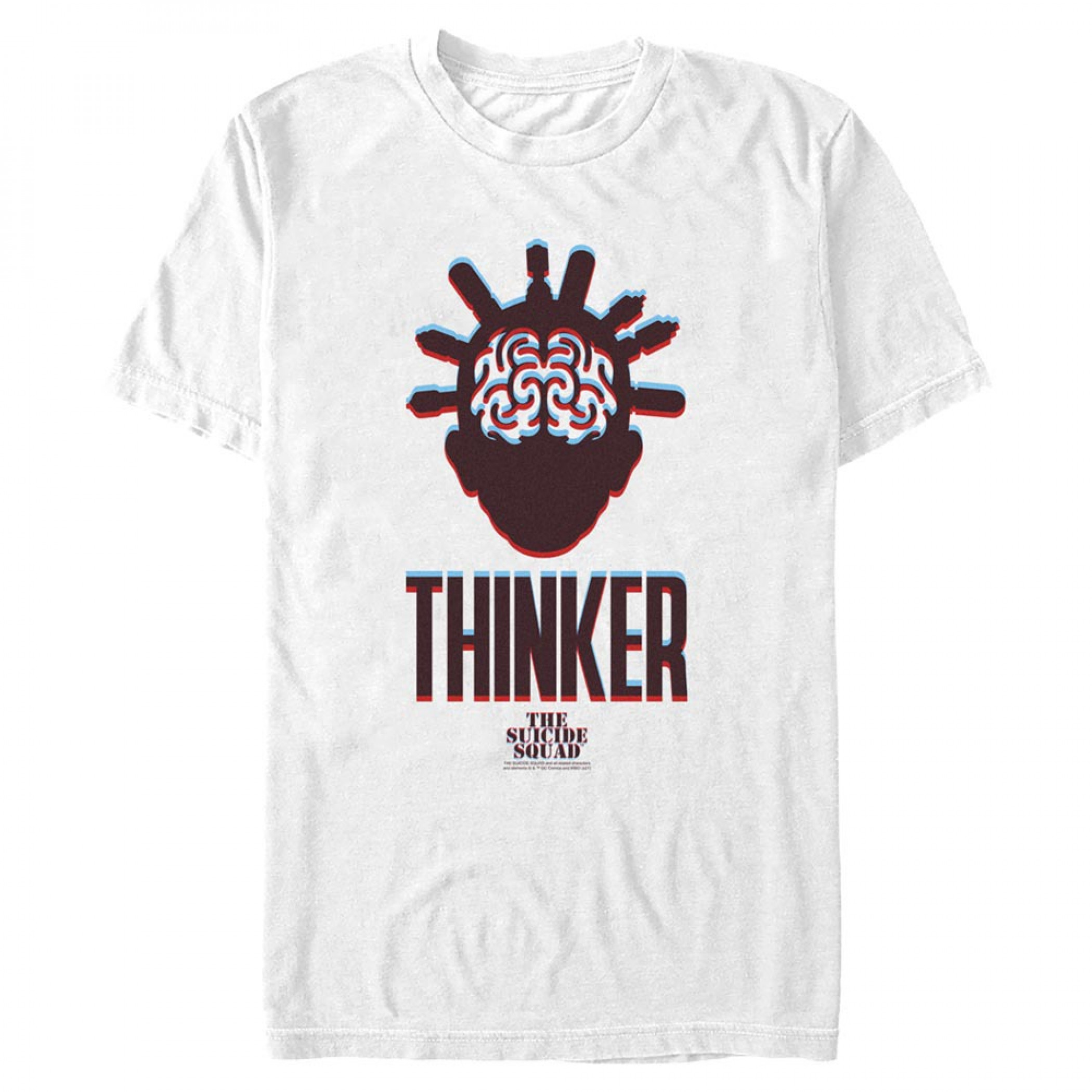 The Suicide Squad The Thinker Icon Men's T-Shirt