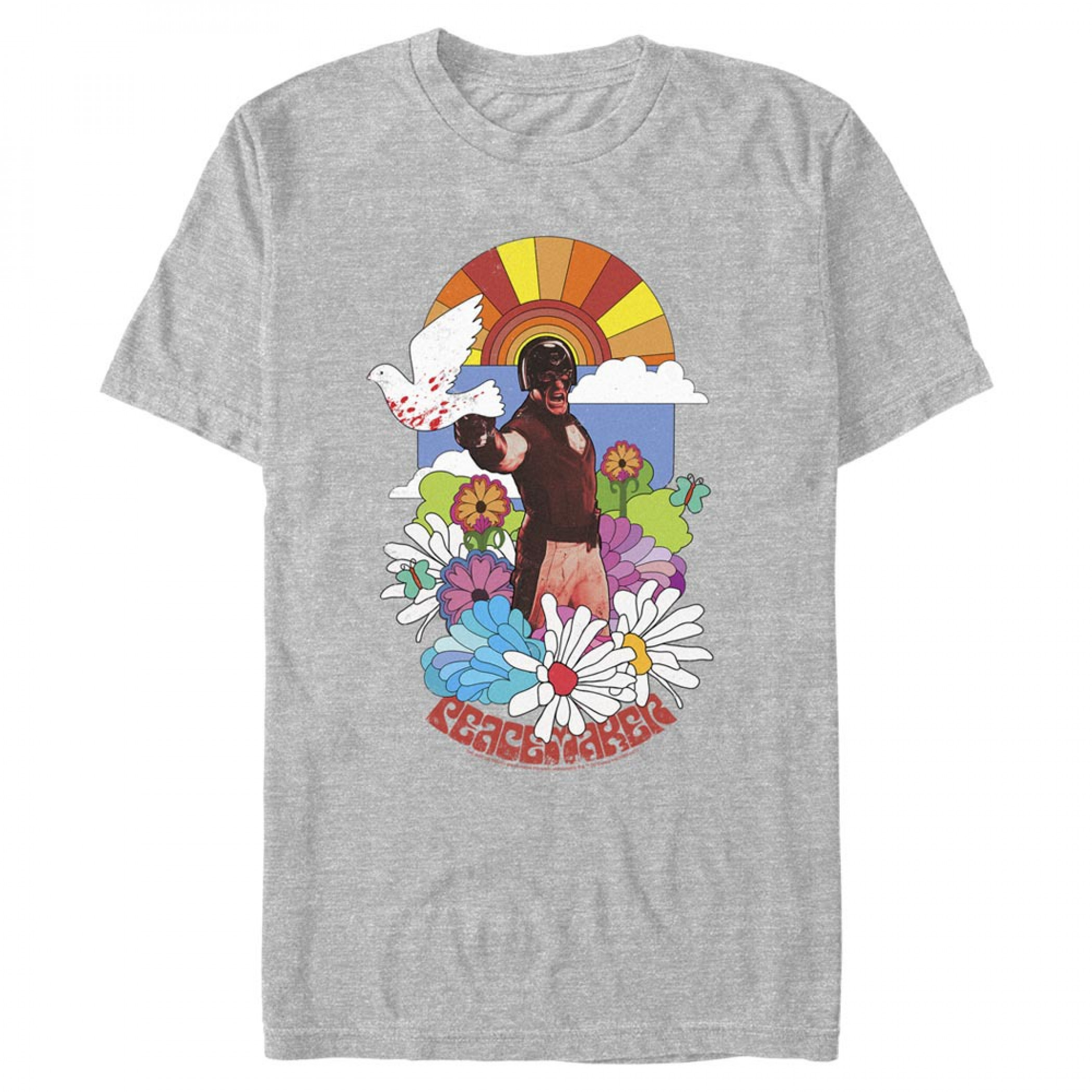 The Suicide Squad Peacemaker 70's Styled T-Shirt