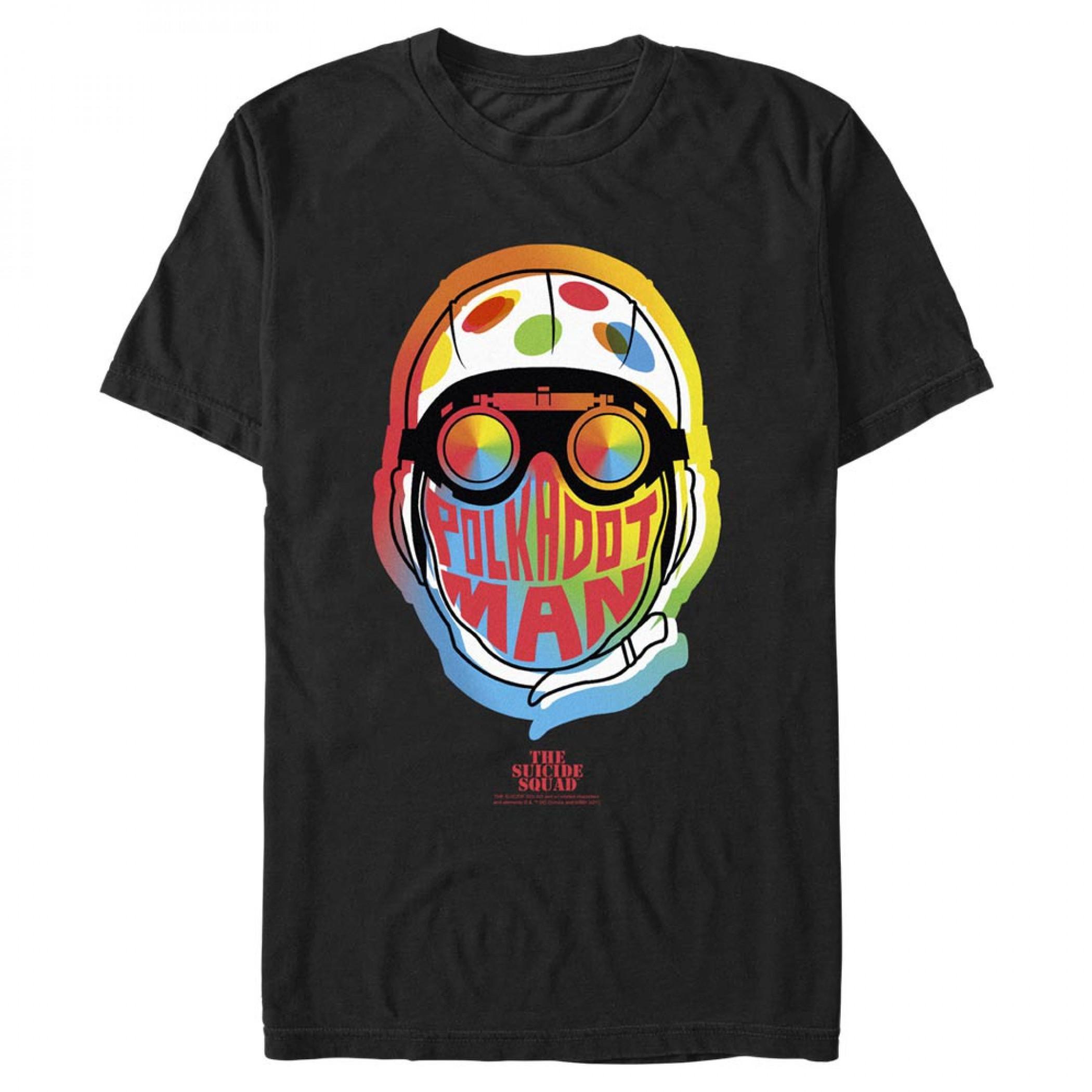The Suicide Squad Polka-Dot Man Stylized Character Portrait Men's T-Shirt