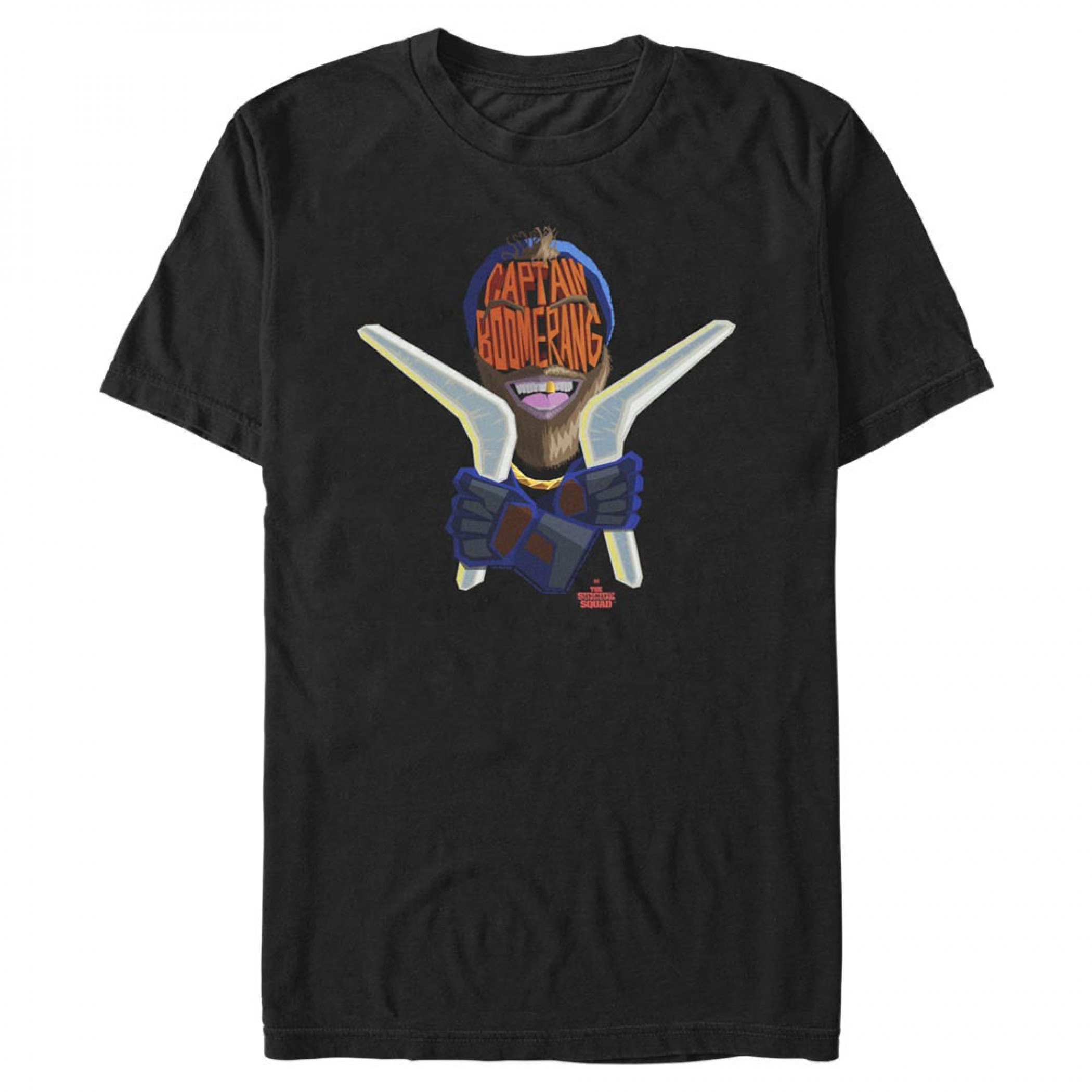 The Suicide Squad Captain Boomerang Stylized Men's T-Shirt