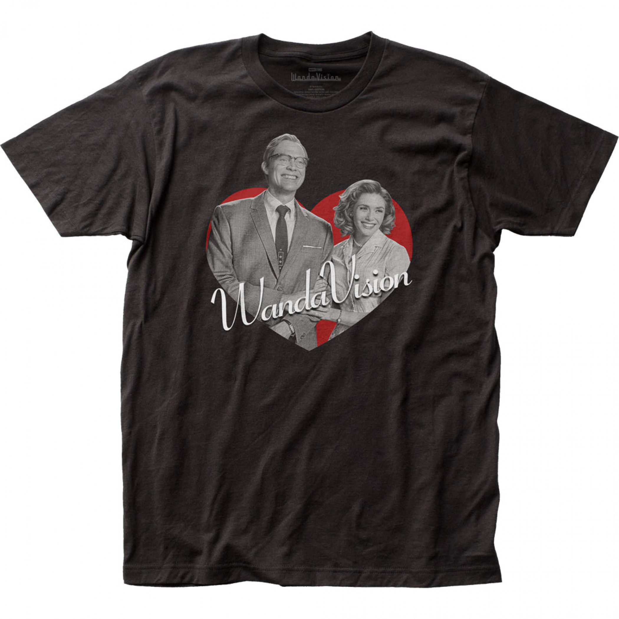 Marvel Studios I Love WandaVision Poster T-Shirt