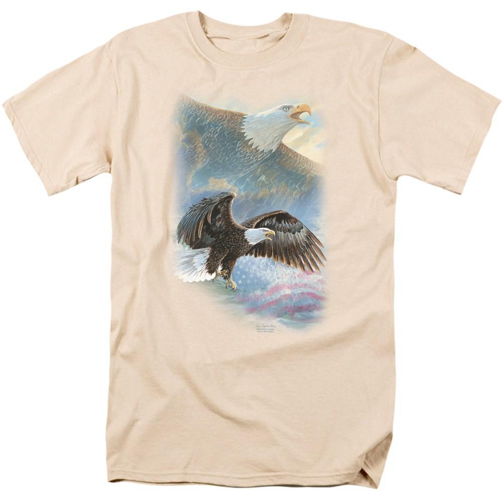 Eagle Pride Hunting and Fishing Men's Tan T-Shirt