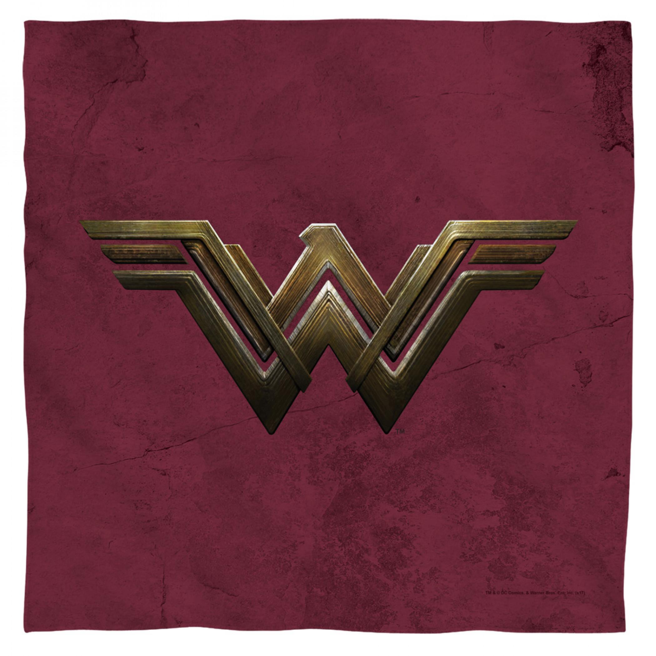 Wonder Woman Movie Symbol Bandana