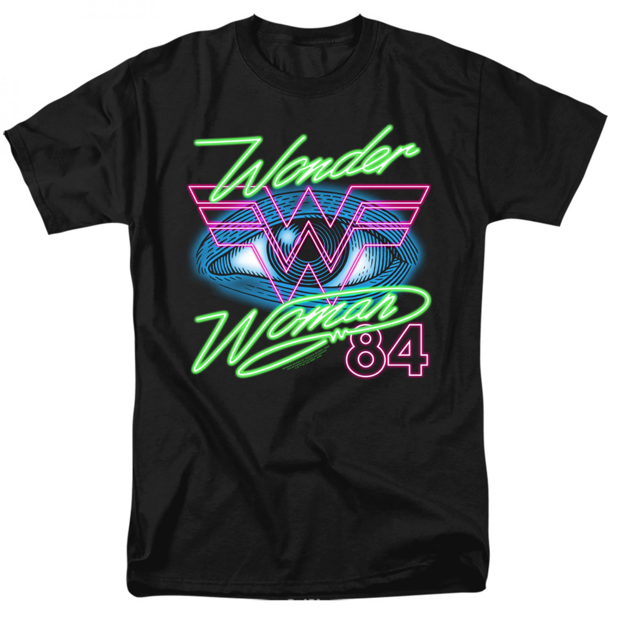Wonder Woman 1984 Movie Eye T-Shirt