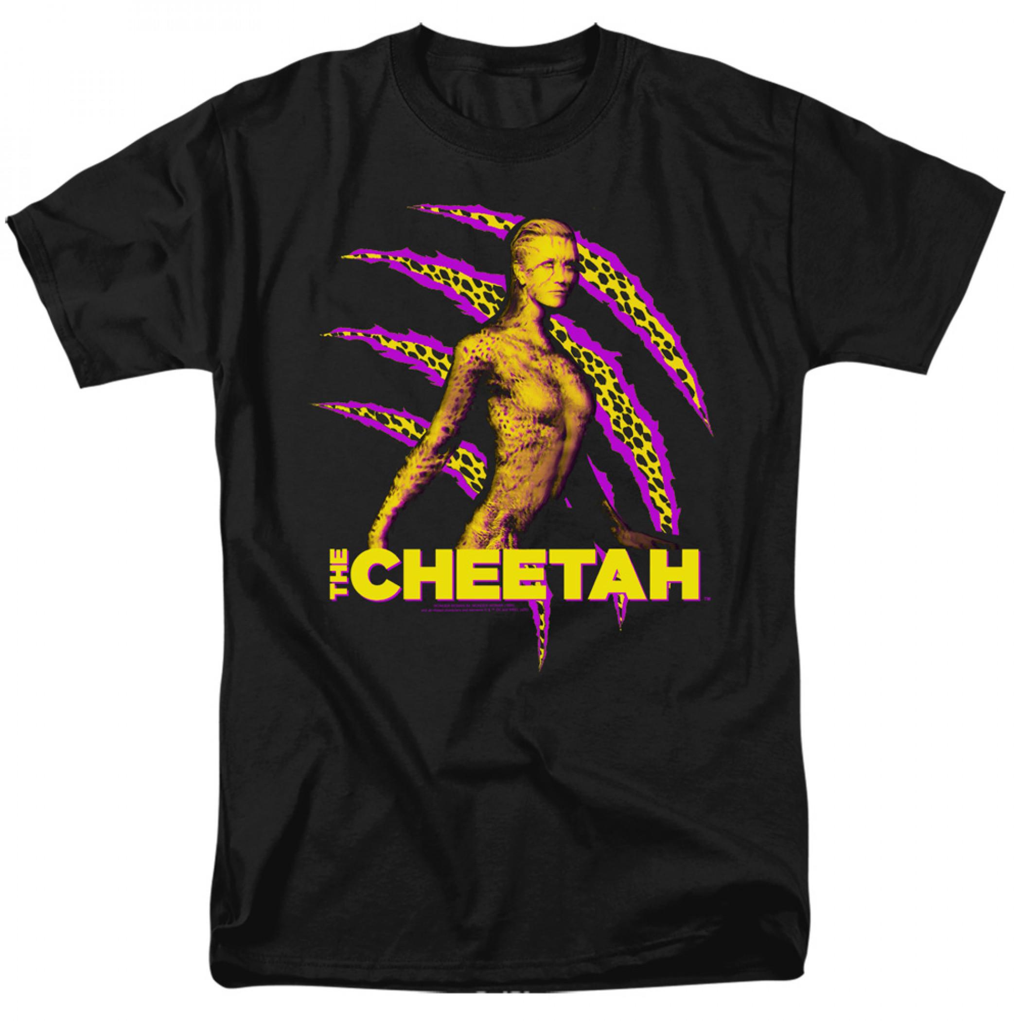 Wonder Woman 1984 Movie The Cheetah T-shirt