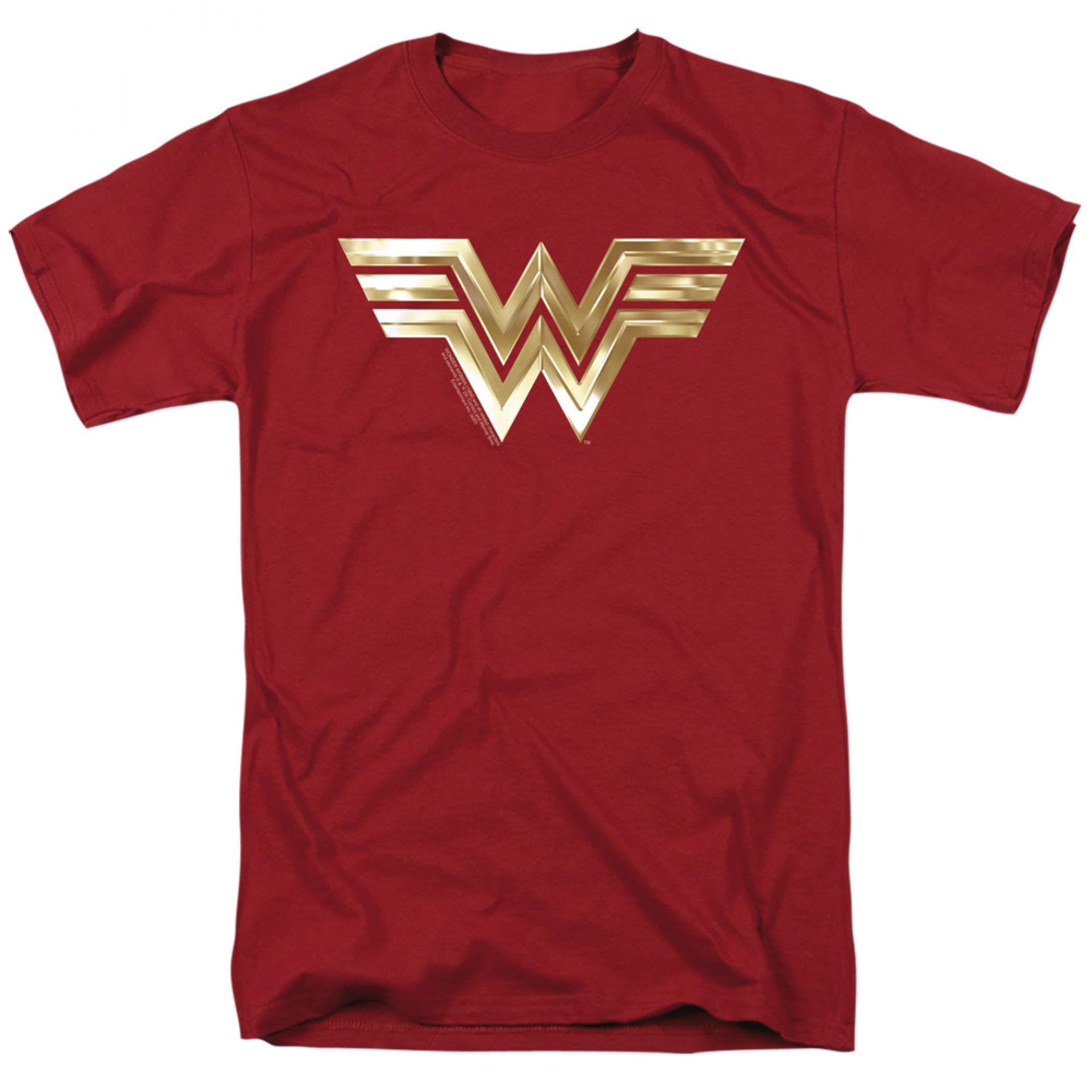 Wonder Woman 1984 Golden Movie Logo