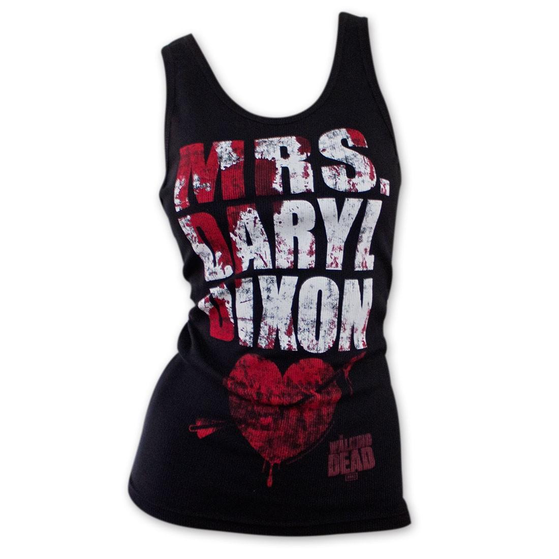 The Walking Dead Mrs. Daryl Dixon Blood Splatter Tank Top