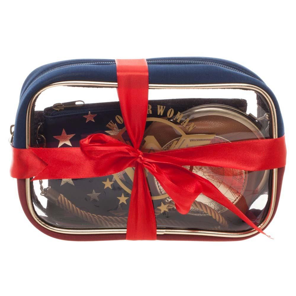 Wonder Woman Cosmetics Bag Set