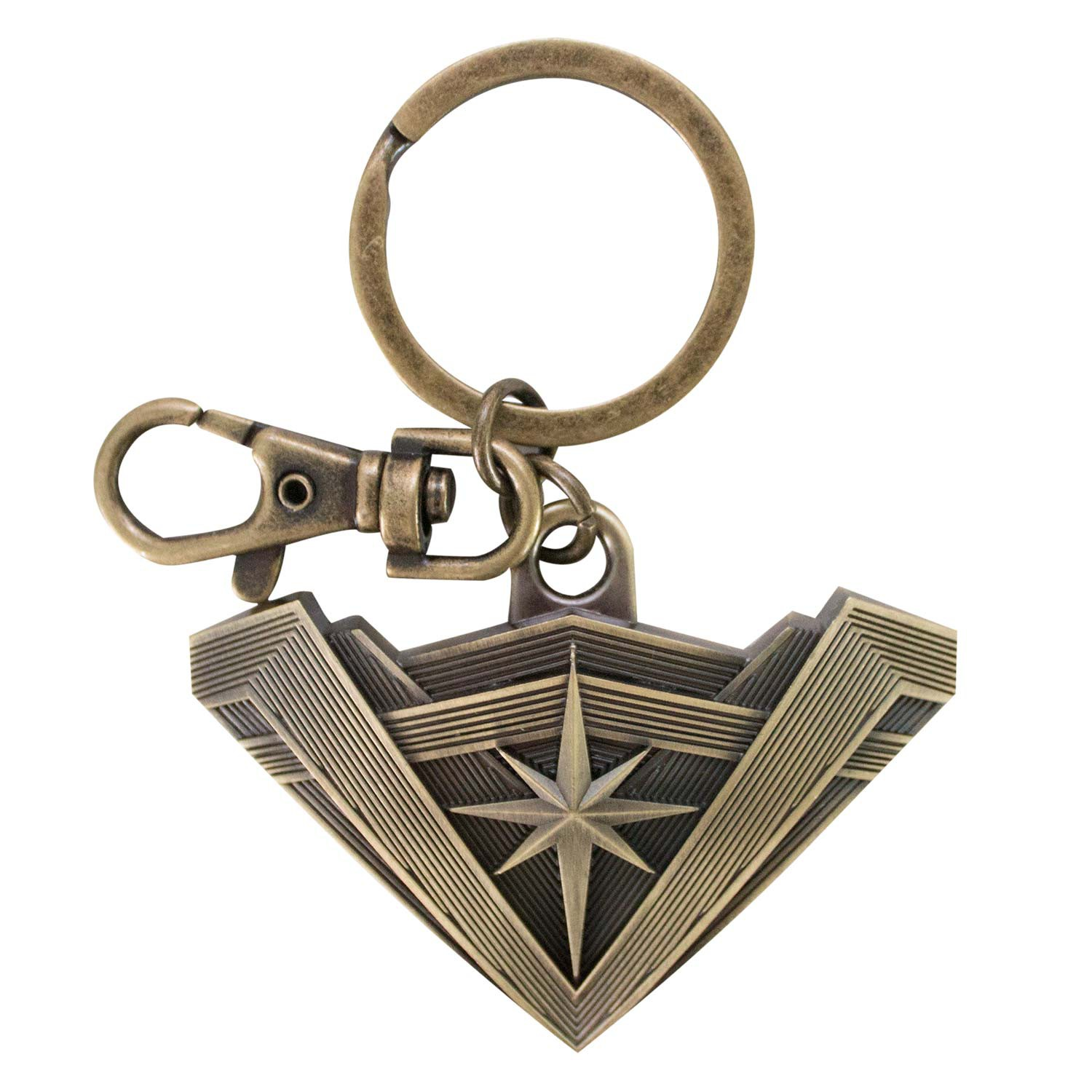 Wonder Woman Antique Logo Keychain