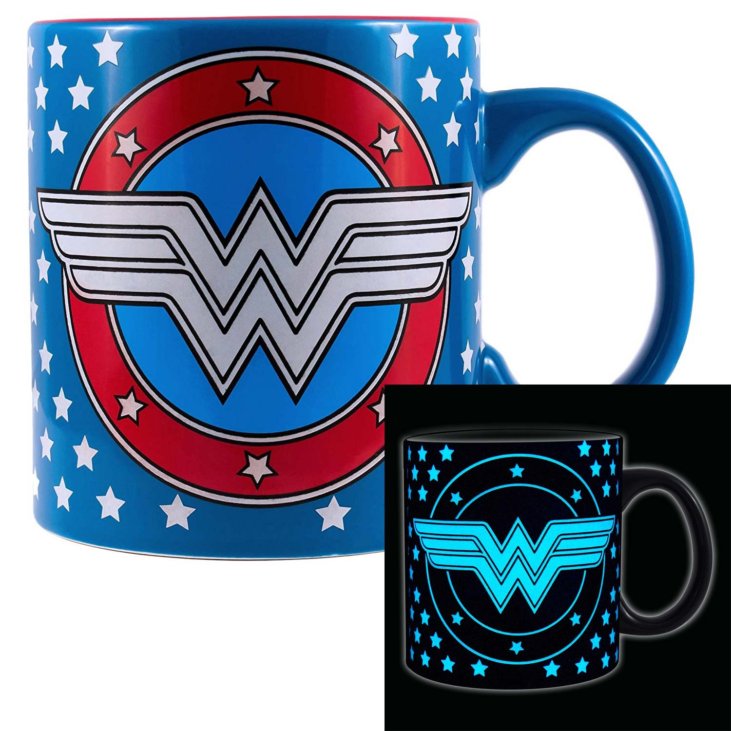 Wonder Woman Glow In The Dark 20oz Mug