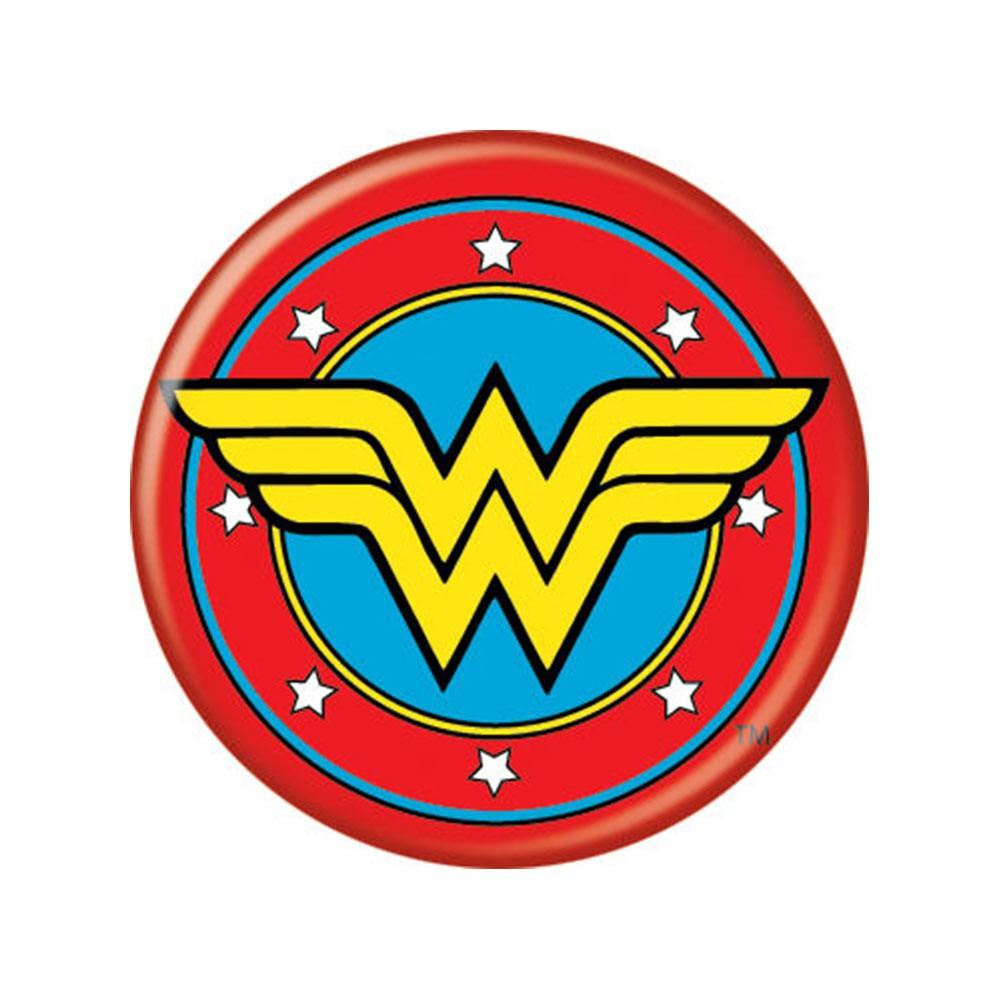 Wonder Woman Comic Button
