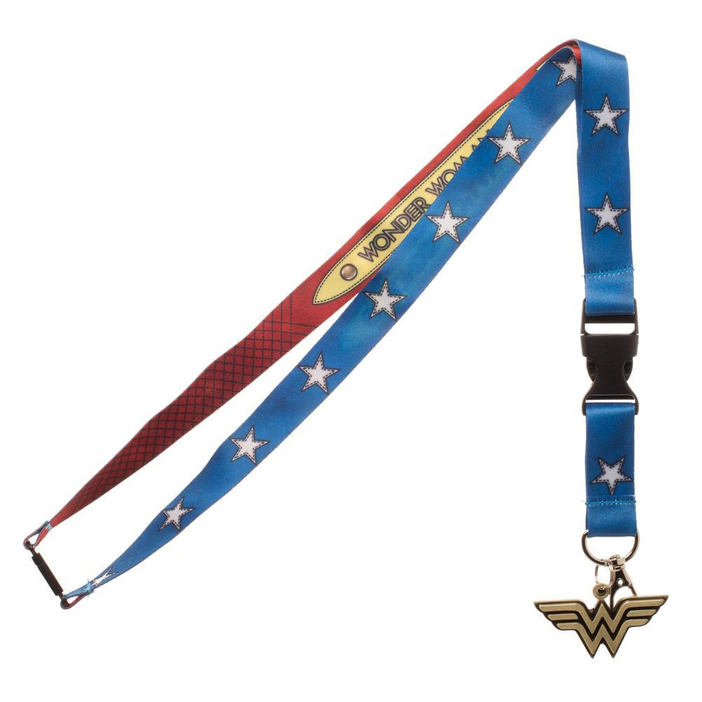 Wonder Woman Comic Lanyard