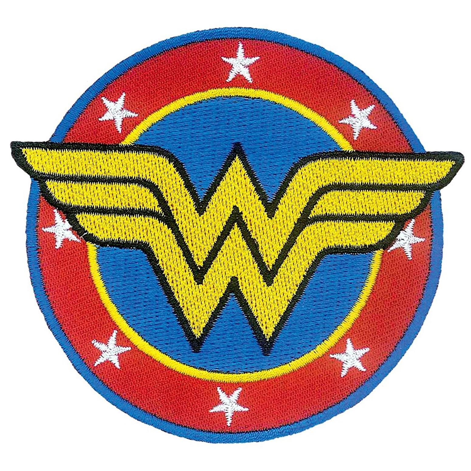 Wonder Woman Iron On Patch