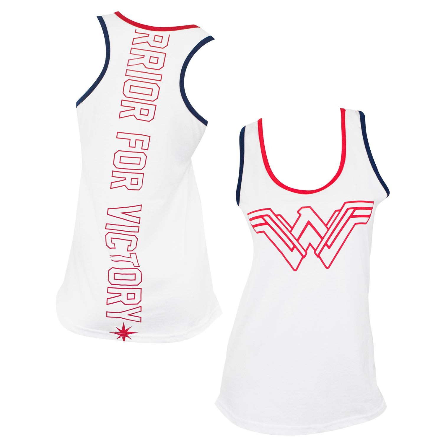 Wonder Woman For Victory Tank Top