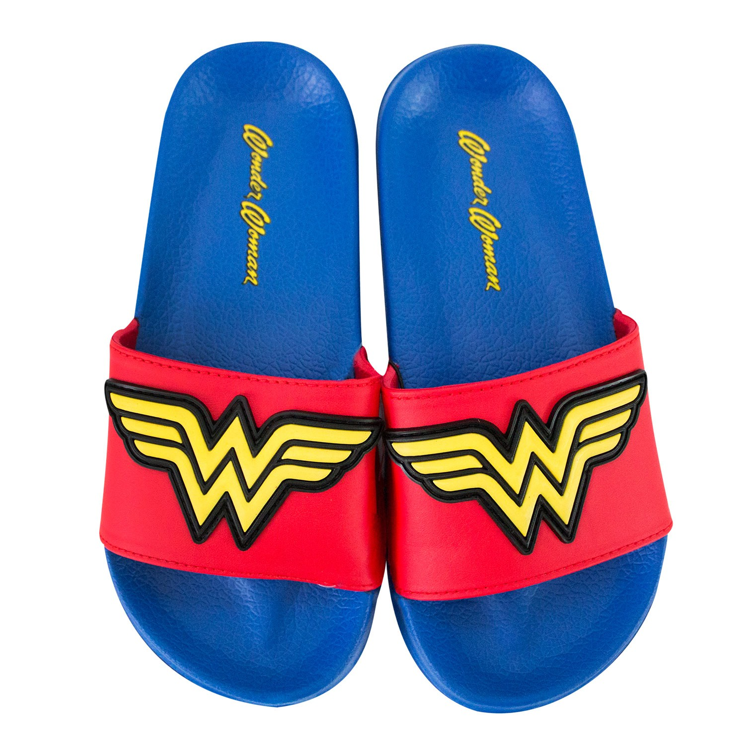 Wonder Woman Youth Soccer Slides