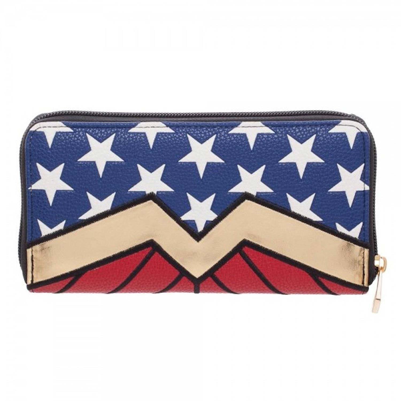 Wonder Woman Zip Around Wallet