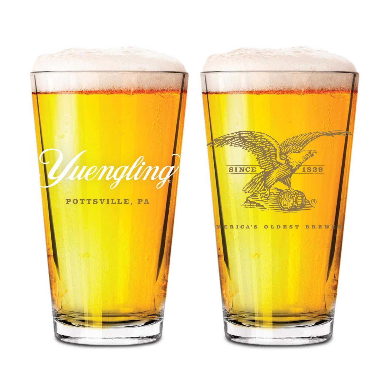Yuengling Eagle Tumbler Pint Glass