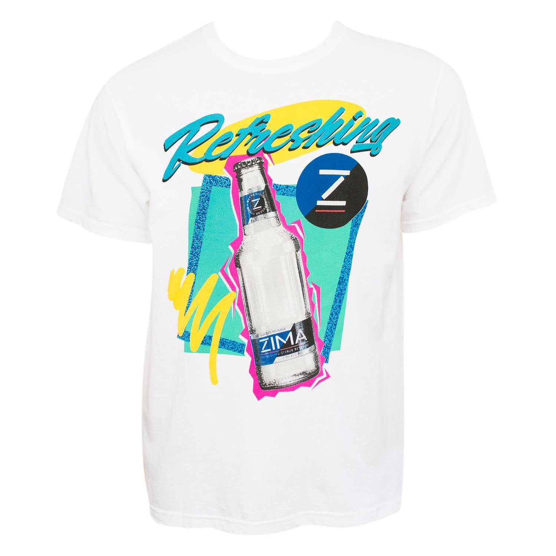 Zima Retro Logo White Tee Shirt