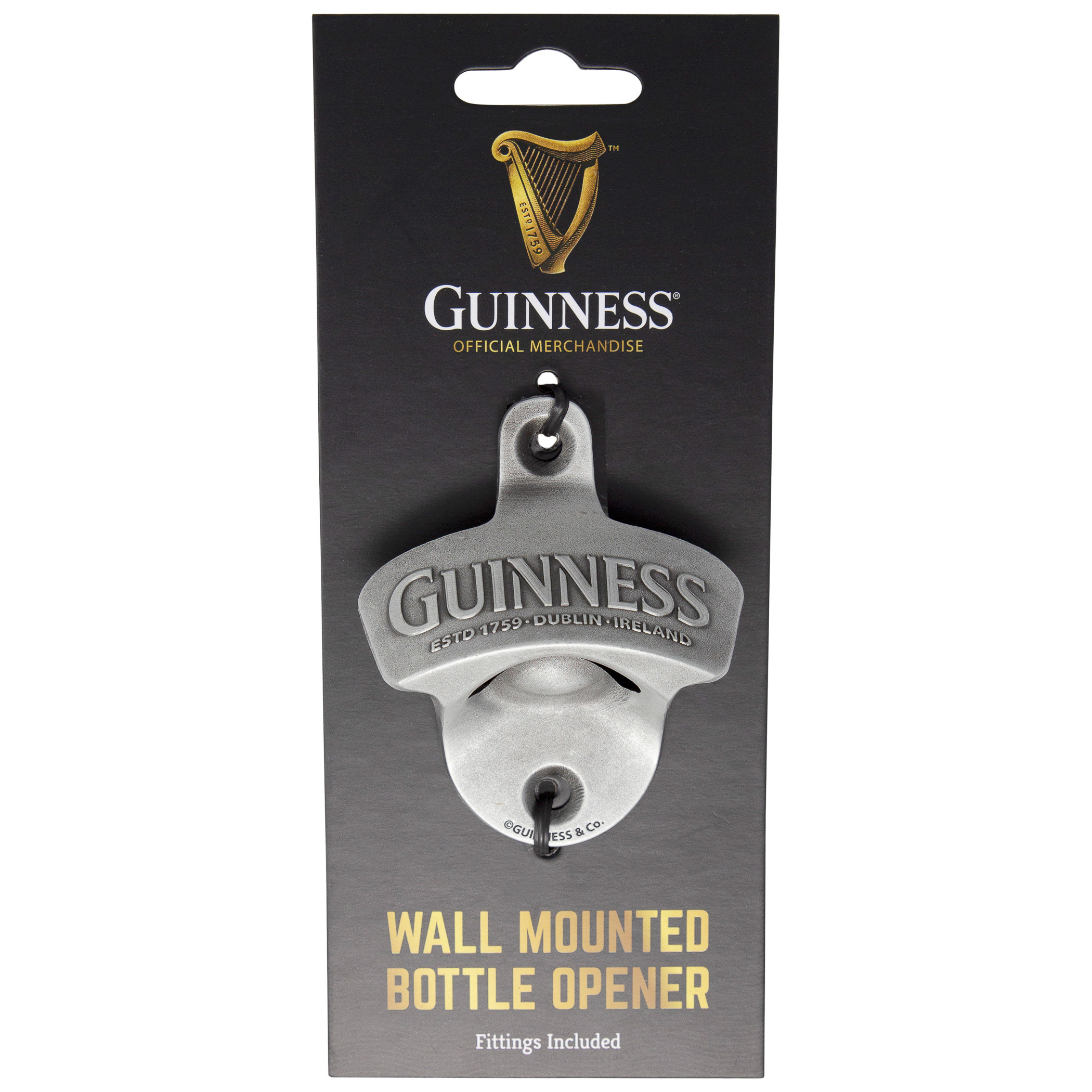 Guinness Mounted Bottle Opener
