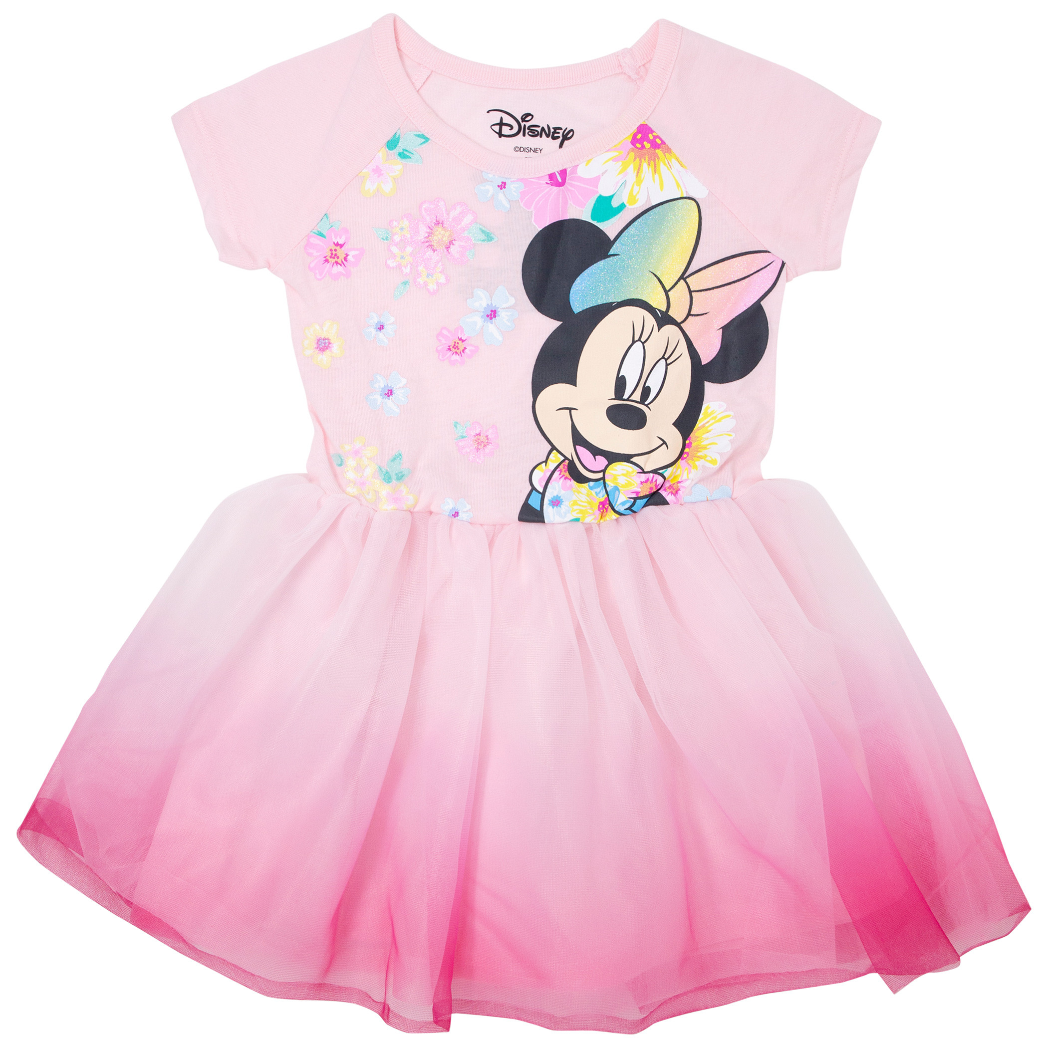 Minnie Mouse Youth Girls Floral Dress