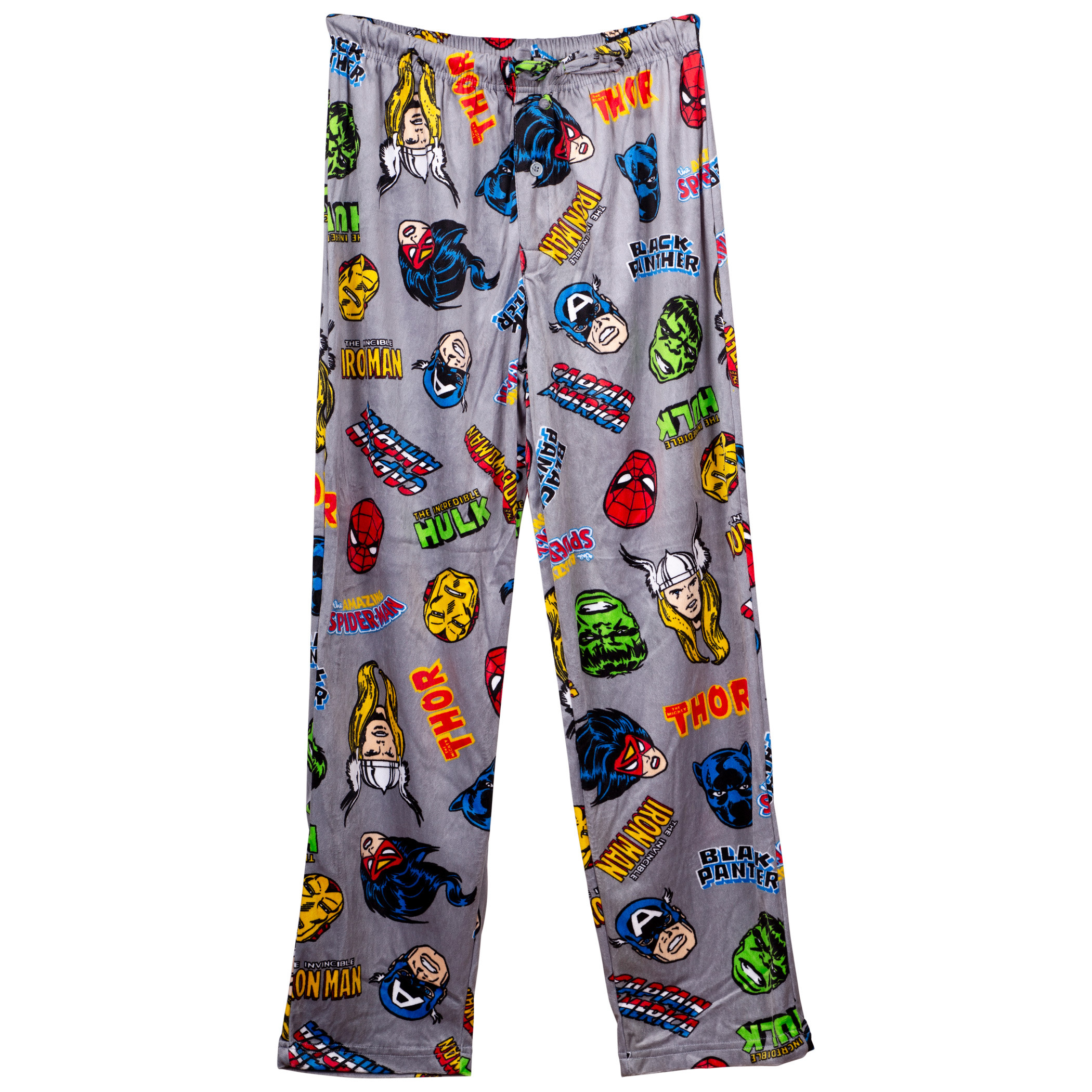 Marvel Universe Heroes Fleece Sleep Pants