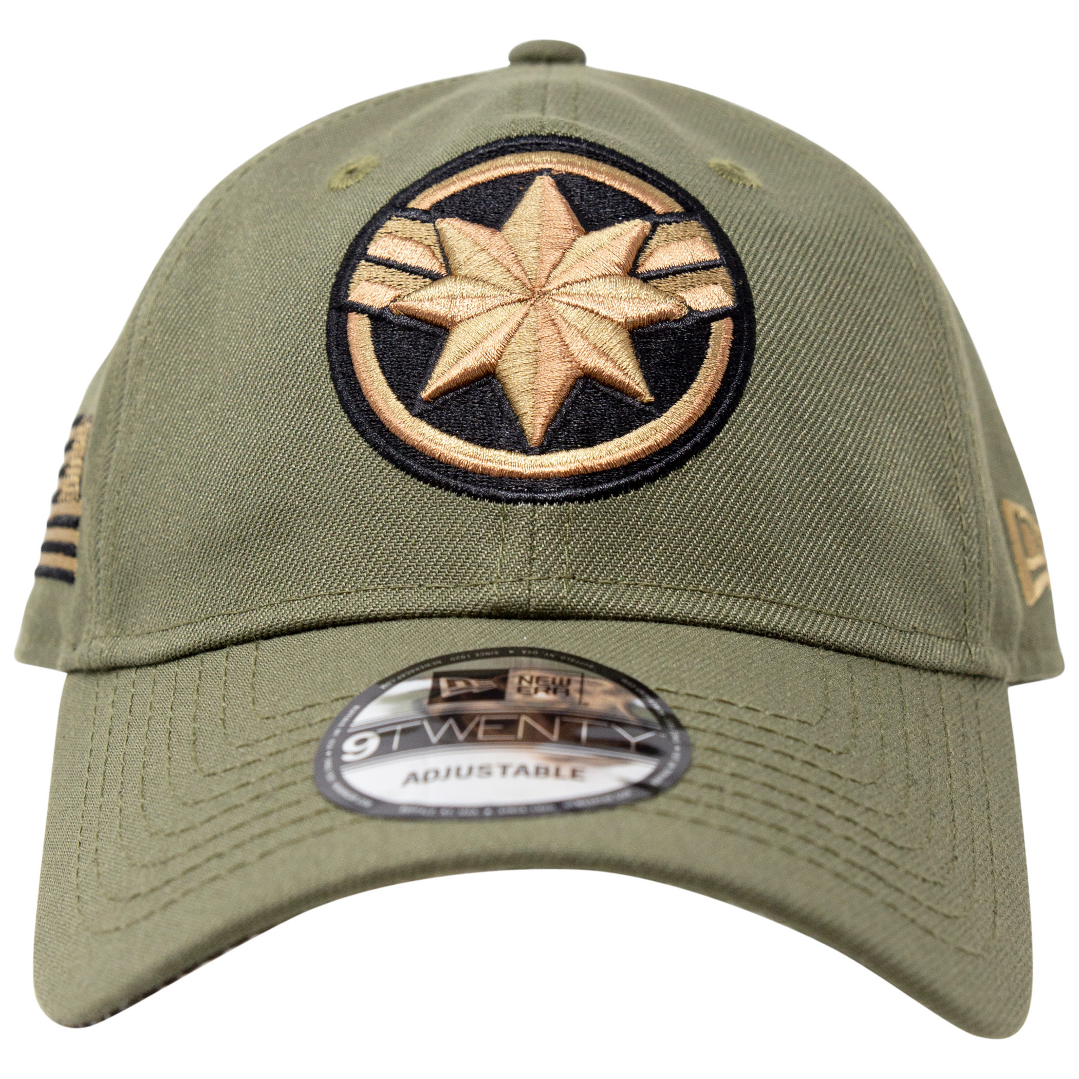 Captain Marvel Salute To Service New Era 9Twenty Adjustable Hat