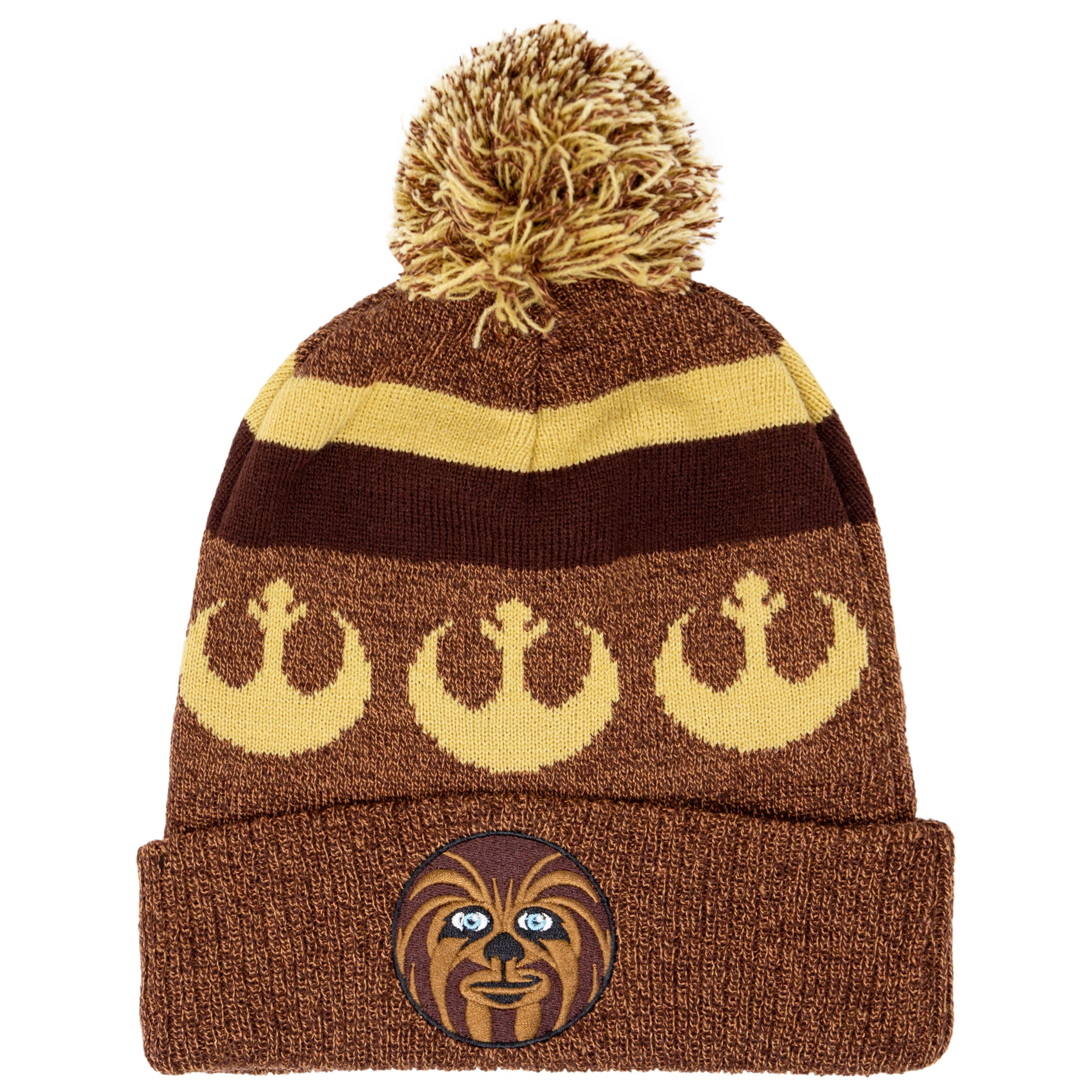 Star Wars Chewbacca Rebel Cuff Pom Beanie