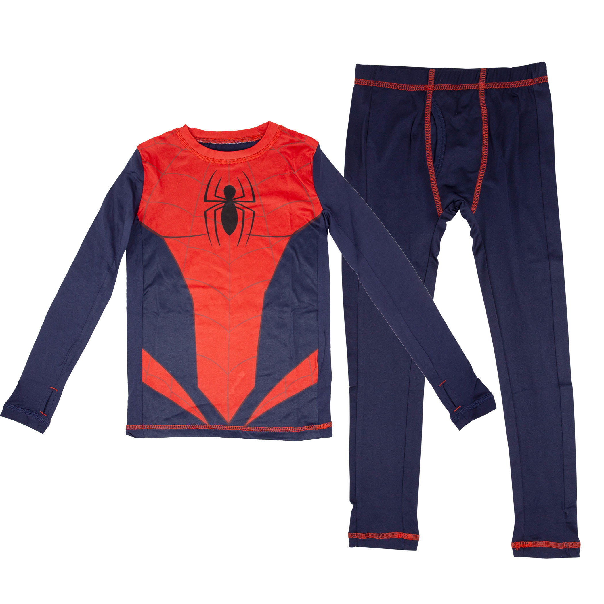 Spider-Man Costume Big Boys 2-Piece Pajama Set