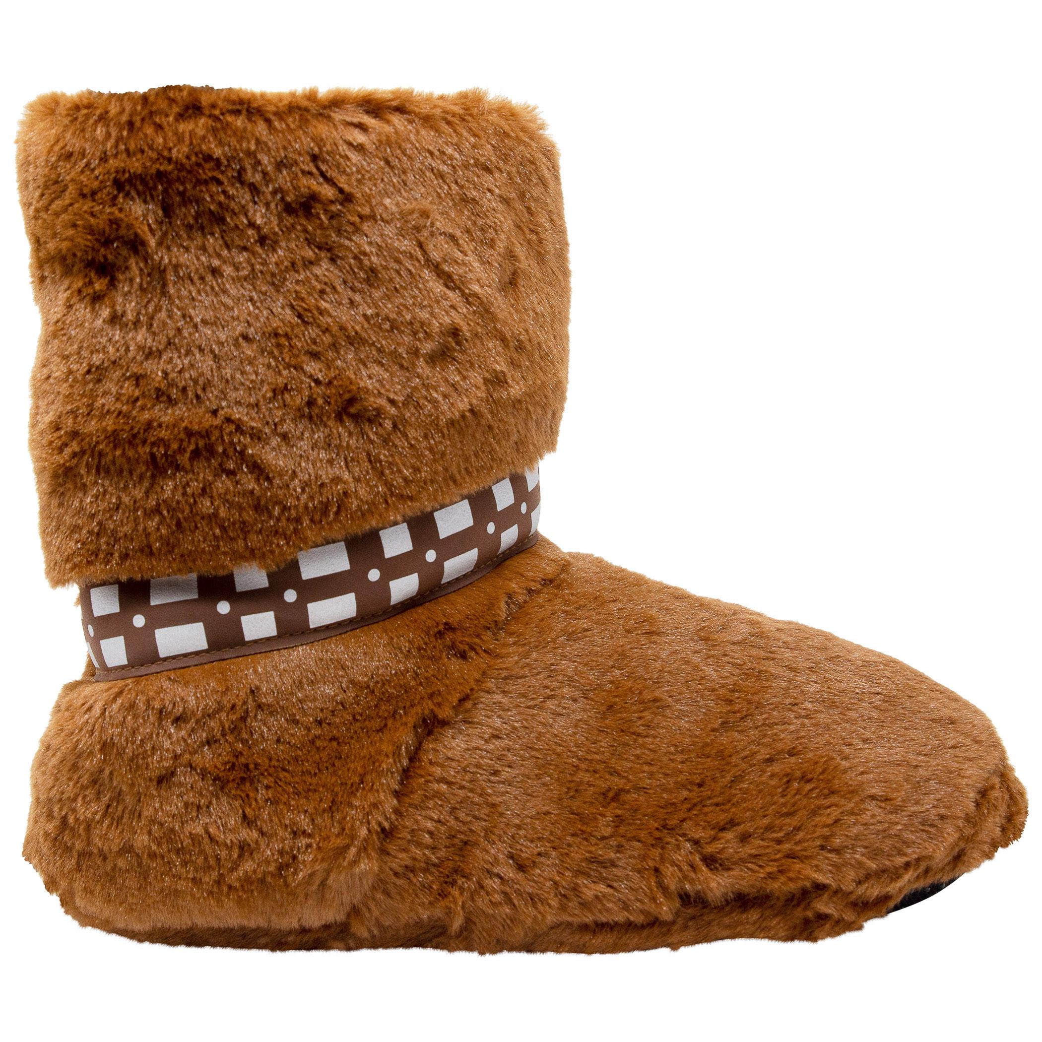 Star Wars Chewbacca Fuzzy Slippers