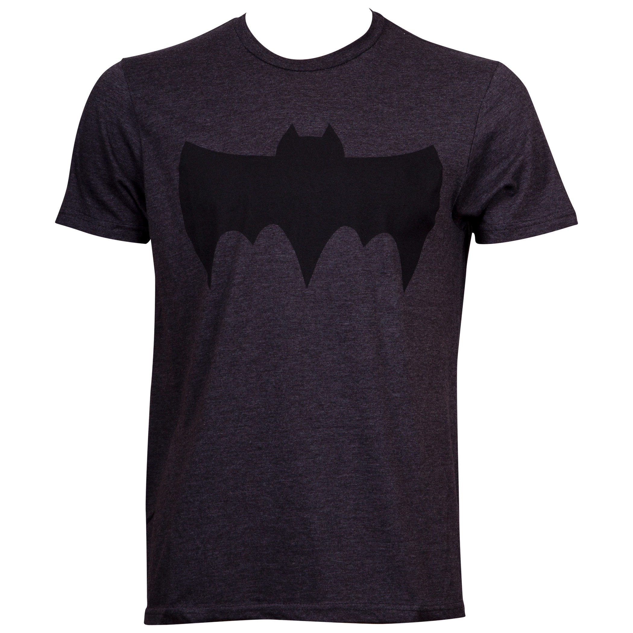 Batman Retro Symbol Grey T-Shirt
