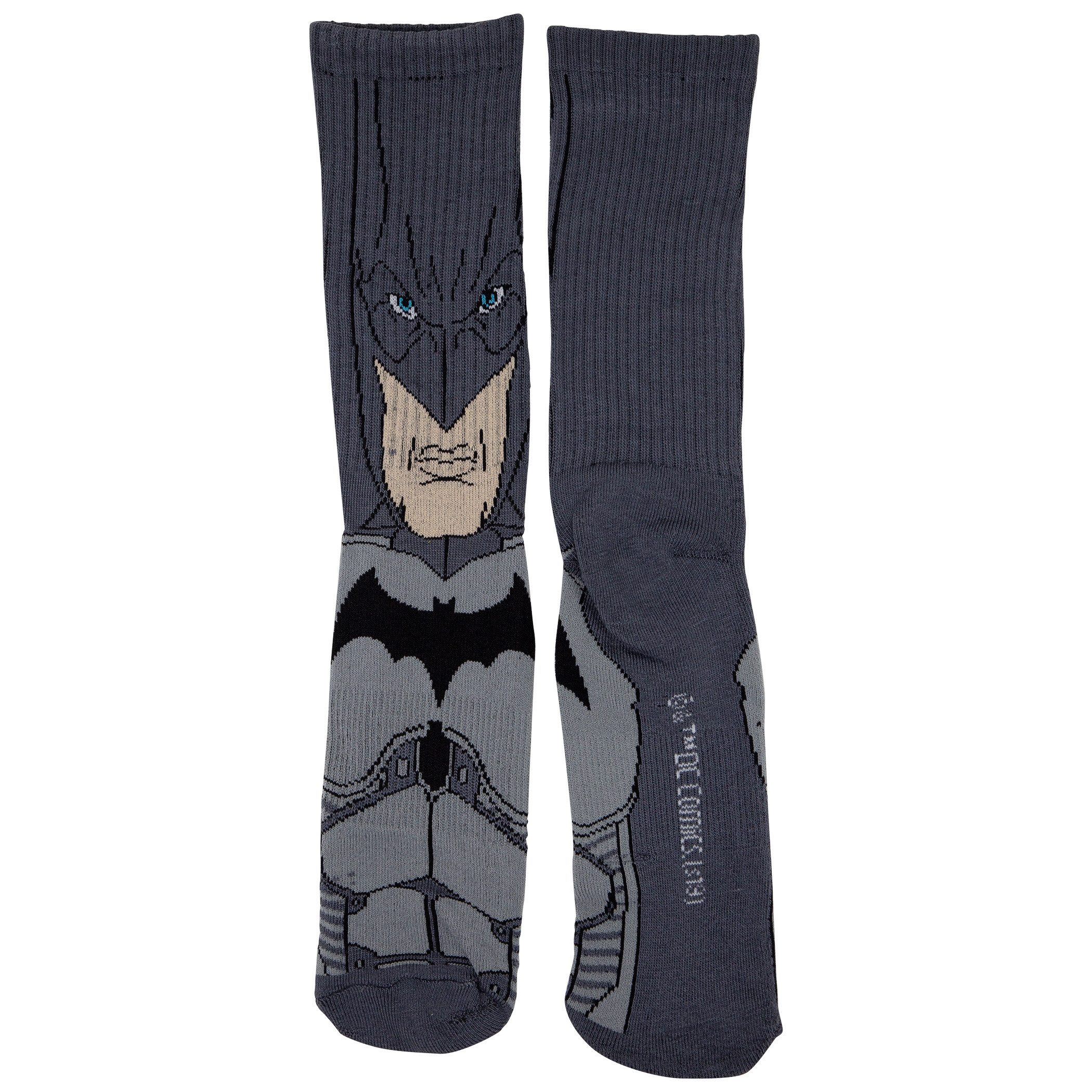 Batman and Joker Character Crew Socks 2-Pair Pack