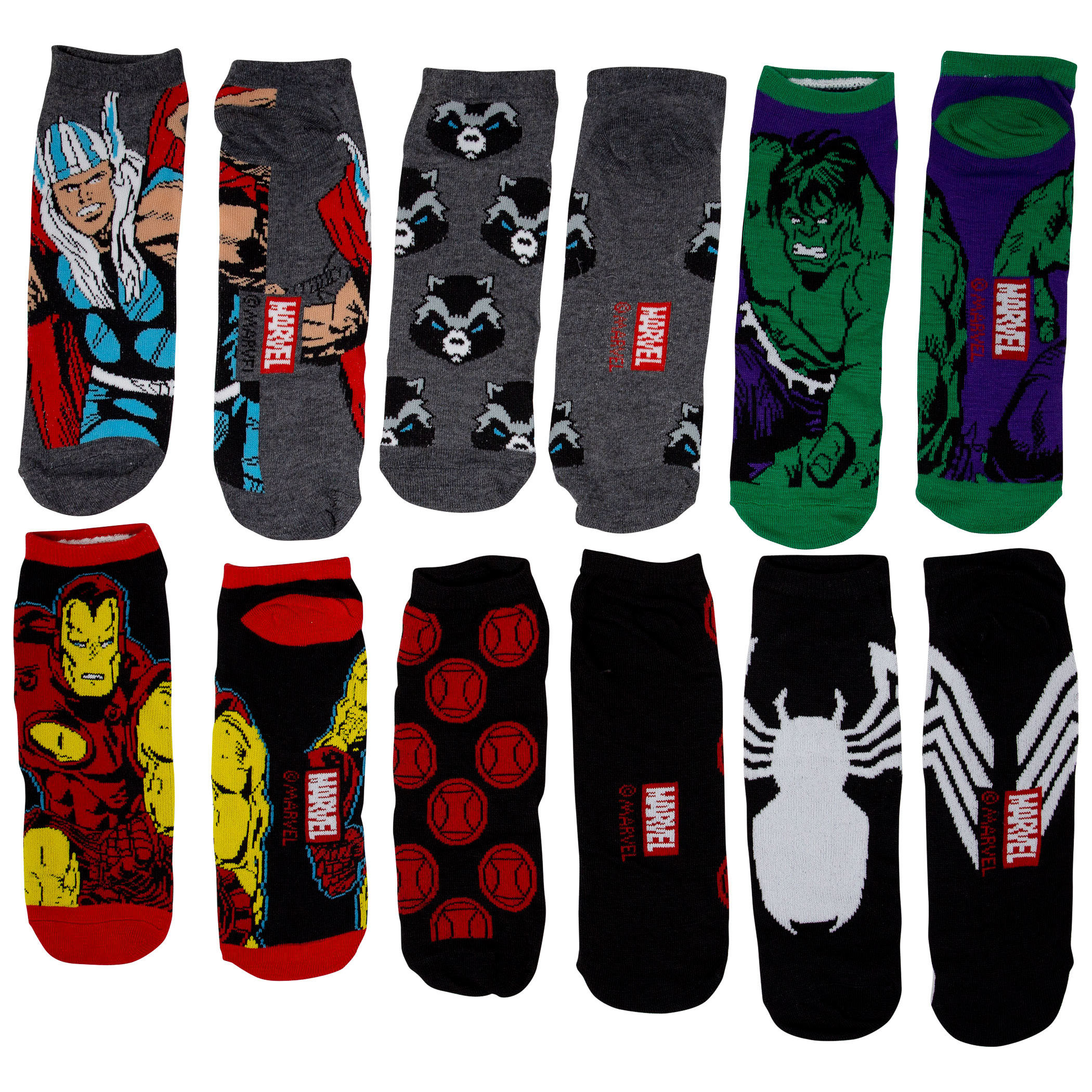 Marvel Socks 12-Pack Gift Giving Box