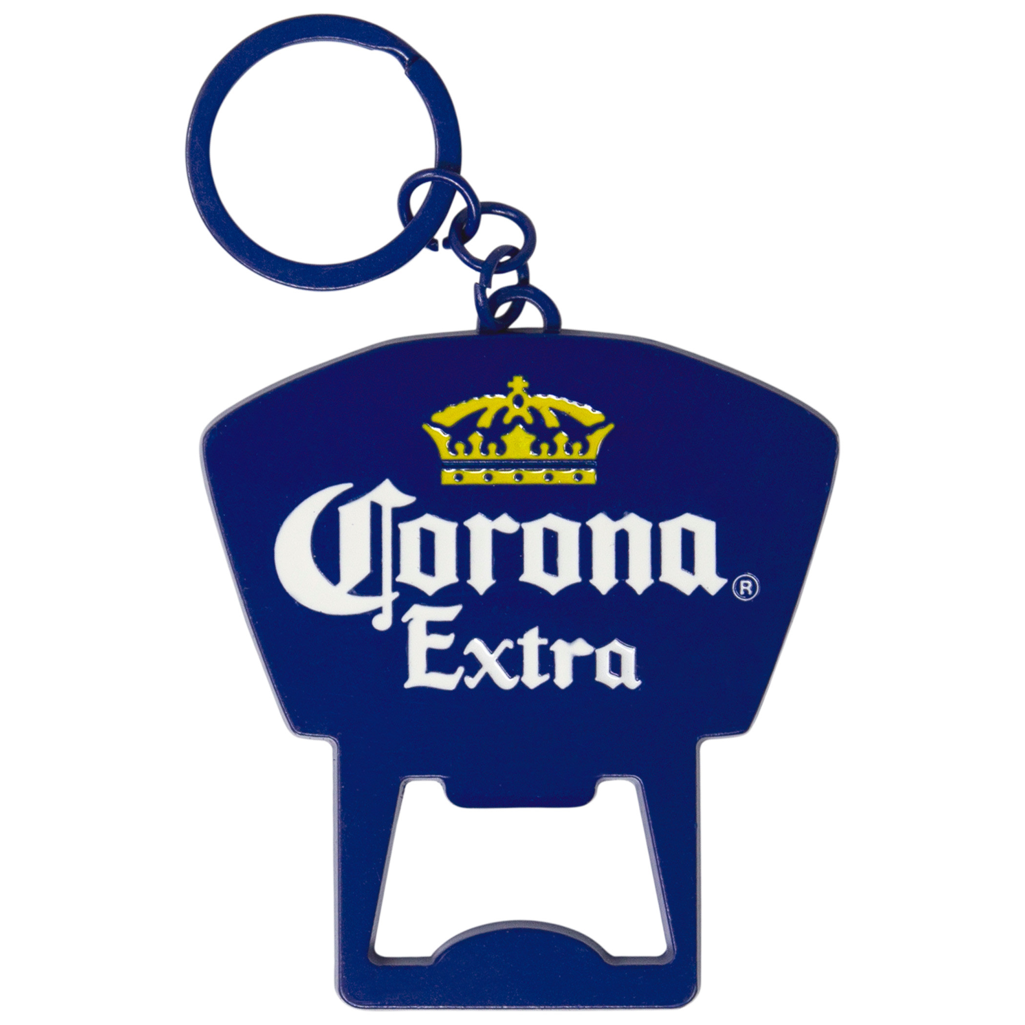 Corona Extra Beer Blue Keychain Bottle Opener